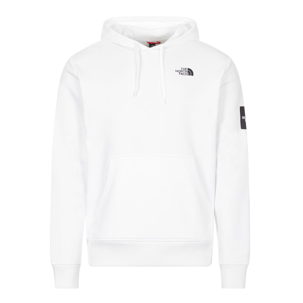 The North Face Cottons HOODIE - WHITE