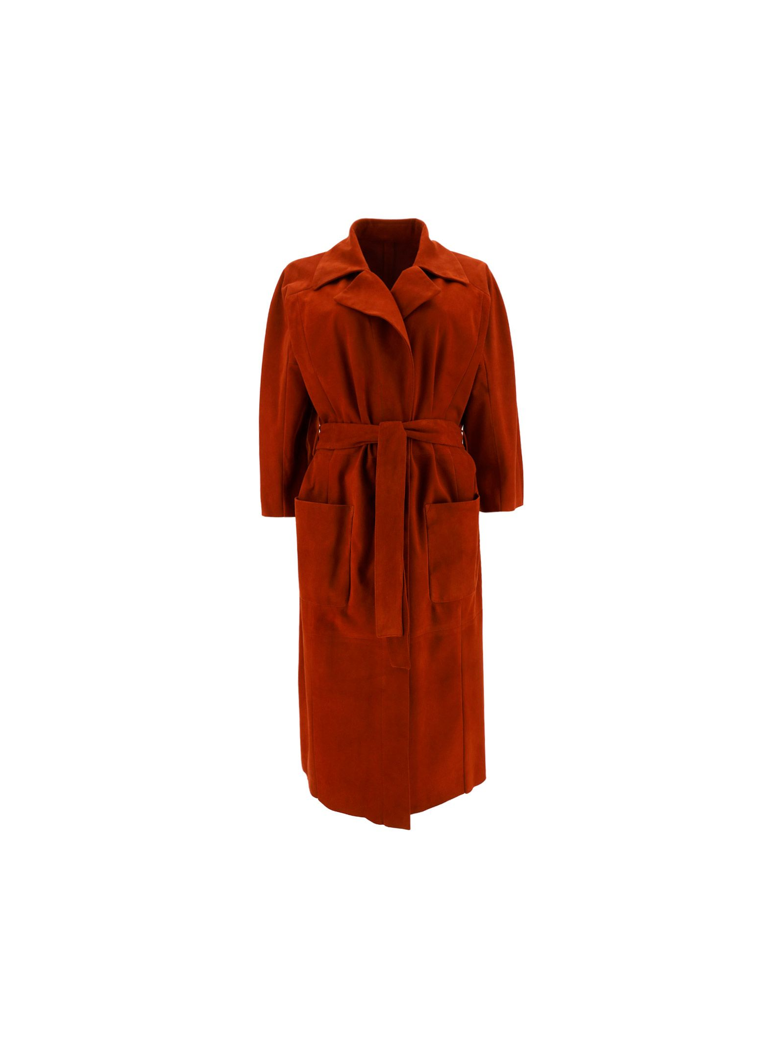Drome DROME WOMEN'S DPD5772PD714PB315 RED OTHER MATERIALS COAT