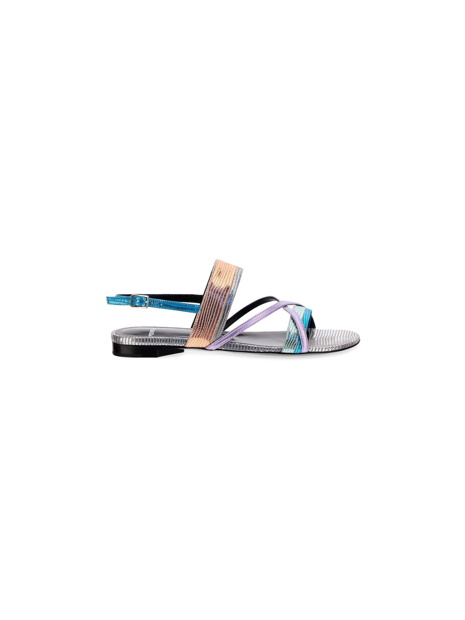 Pierre Hardy PIERRE HARDY WOMEN'S VD03SILVER SILVER OTHER MATERIALS SANDALS