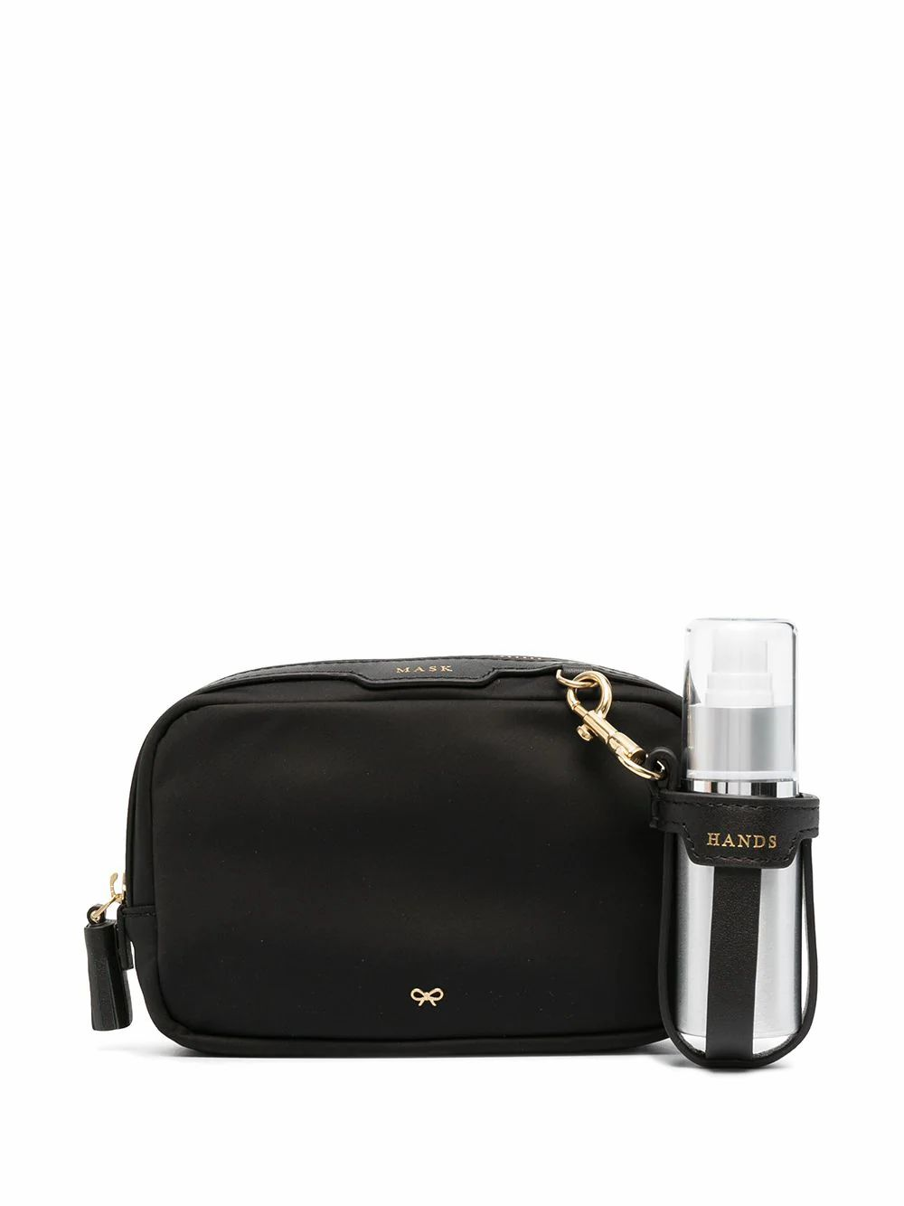 Anya Hindmarch ANYA HINDMARCH WOMEN'S 156240BLACK BLACK POLYAMIDE BEAUTY CASE