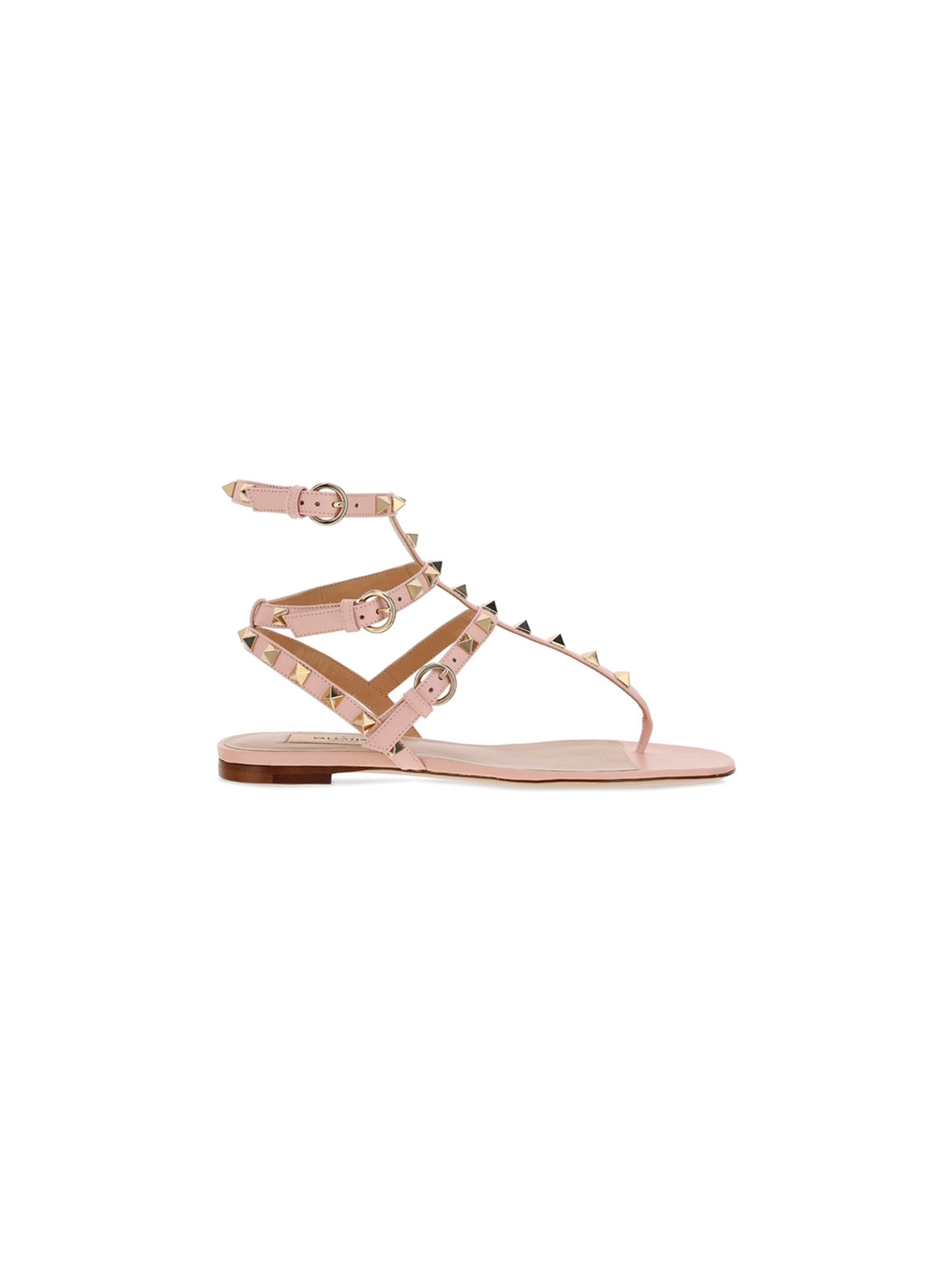 Valentino Leathers VALENTINO GARAVANI WOMEN'S VW2S0812VOD16Q PINK OTHER MATERIALS SANDALS