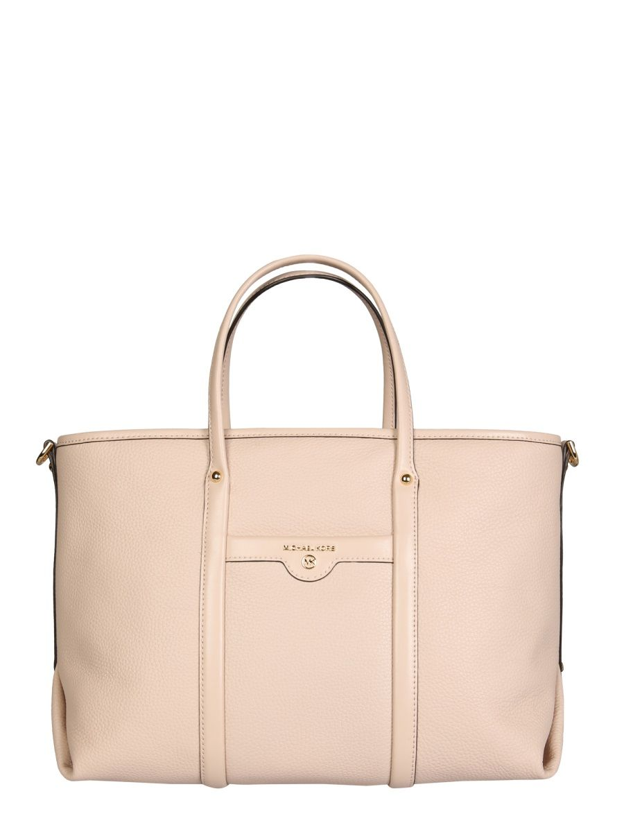 Michael Kors Leathers MICHAEL KORS WOMEN'S 30H0GKNT2L187 PINK OTHER MATERIALS TOTE