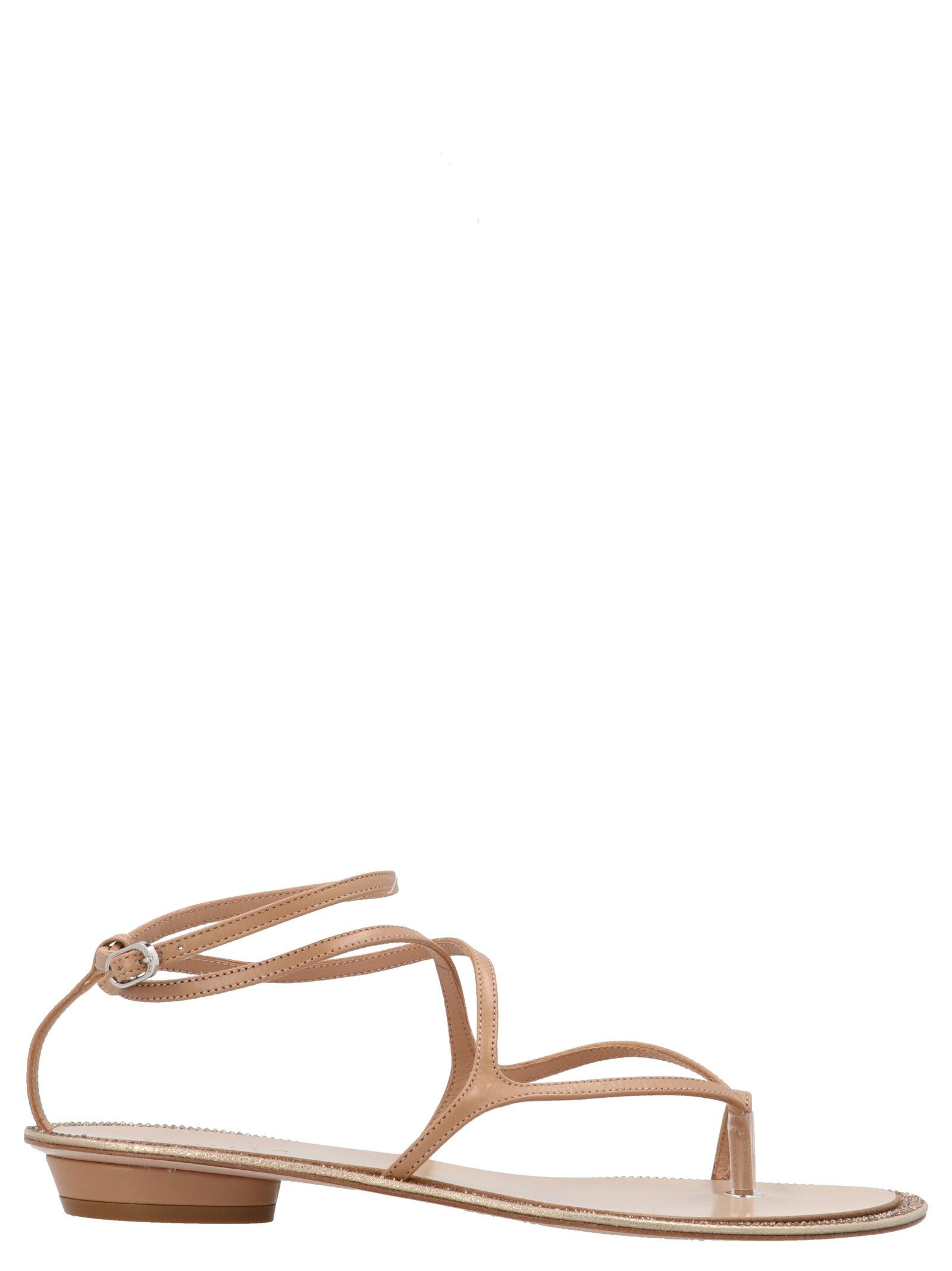 Le Silla LE SILLA WOMEN'S 1204S020R4PPMIN028 BROWN OTHER MATERIALS SANDALS
