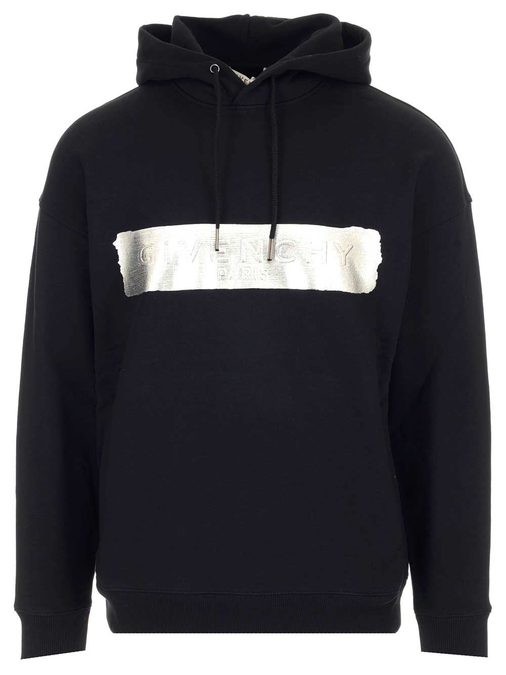 Givenchy GIVENCHY MEN'S BMJ0A230AF001 BLACK OTHER MATERIALS SWEATSHIRT