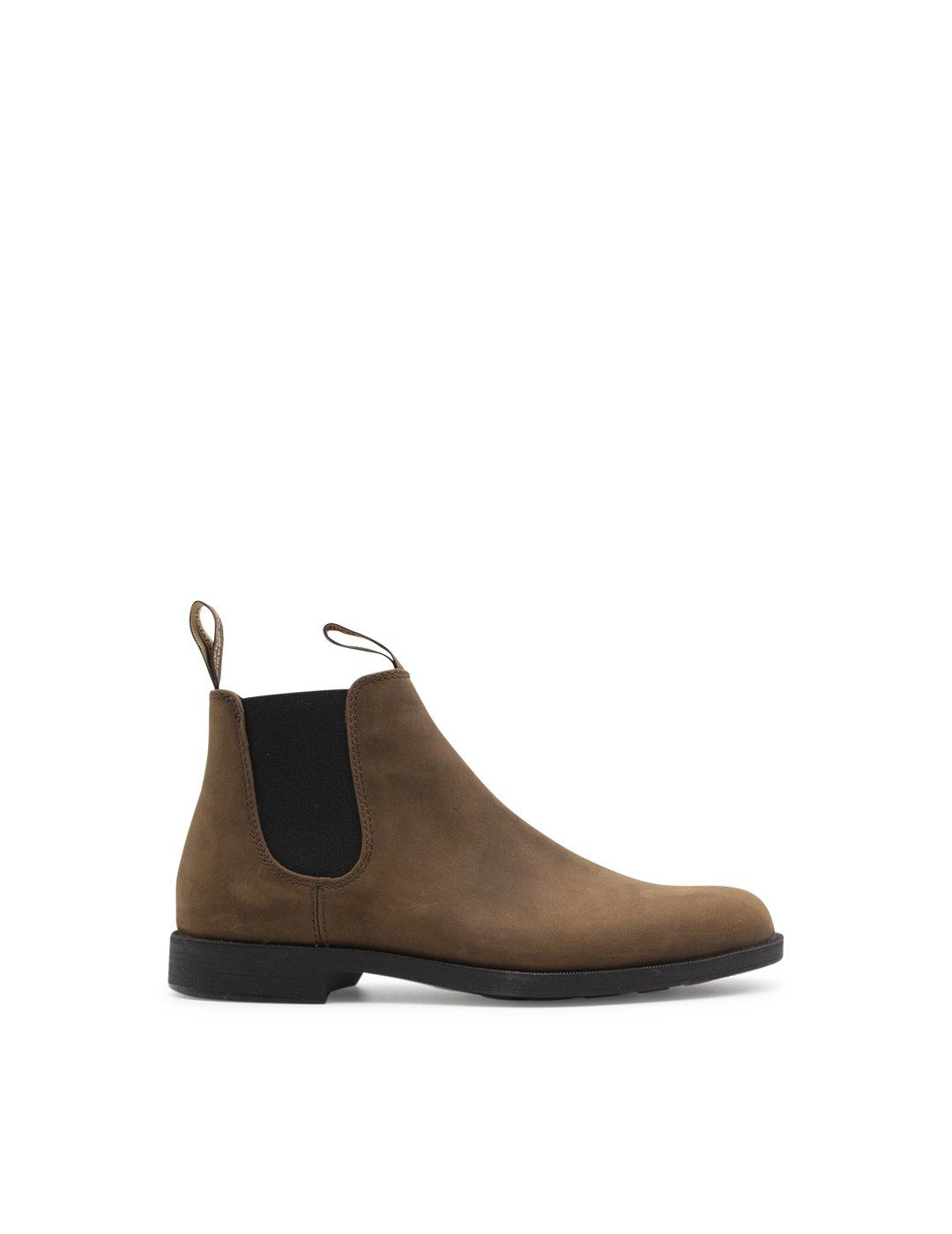 Blundstone Leathers BLUNDSTONE MEN'S 2026BROWN BROWN LEATHER ANKLE BOOTS