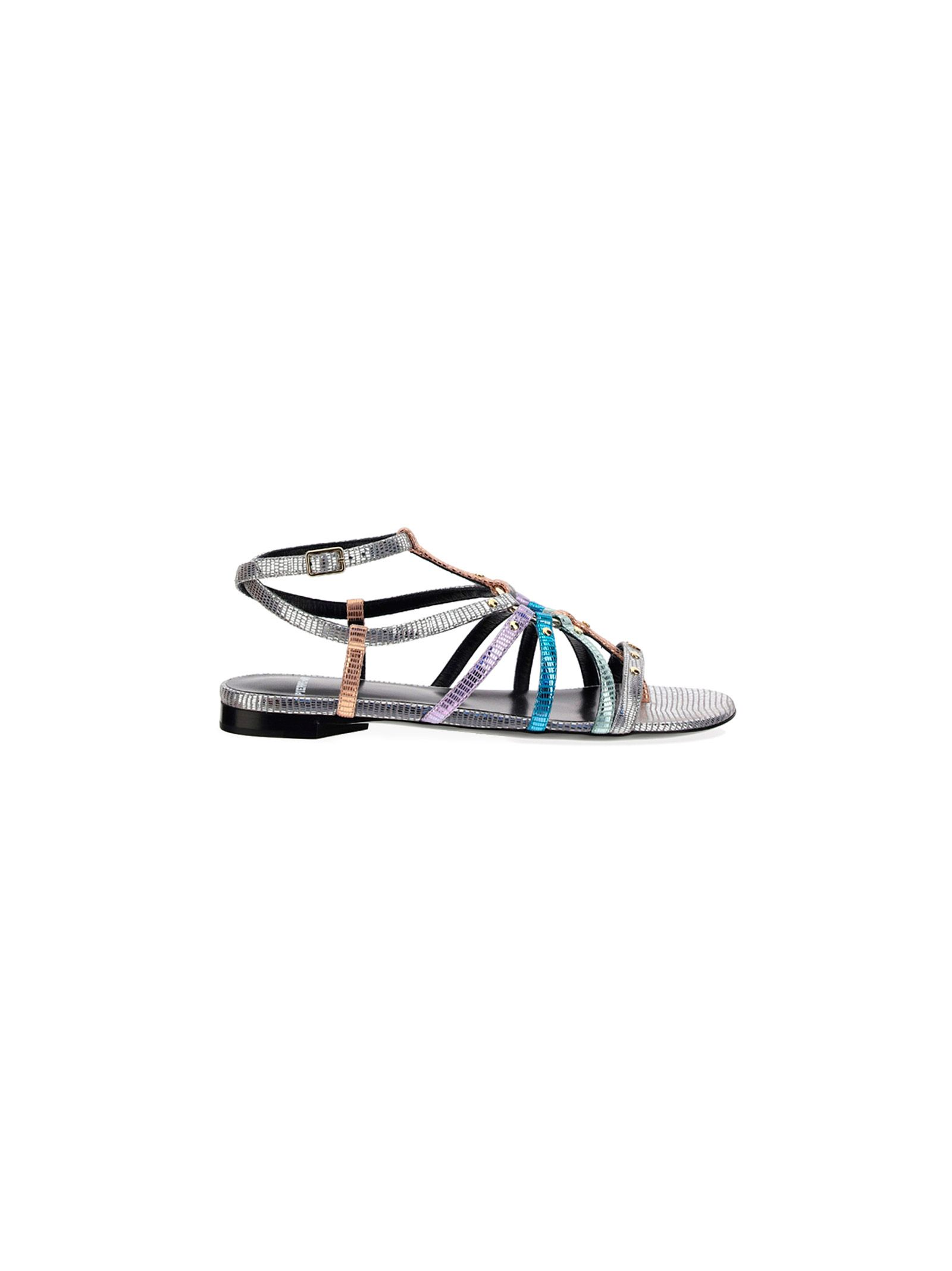 Pierre Hardy PIERRE HARDY WOMEN'S VD07SILVER SILVER OTHER MATERIALS SANDALS