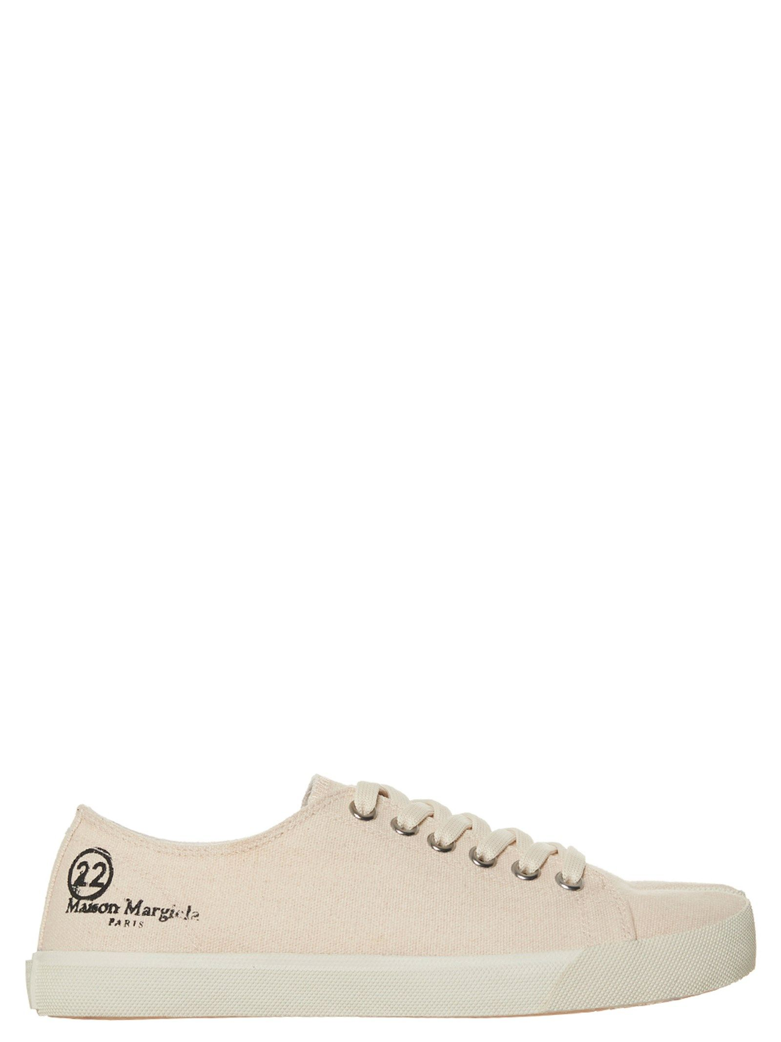 Maison Margiela Canvases MAISON MARGIELA WOMEN'S S58WS0110P4044T8041 WHITE OTHER MATERIALS SNEAKERS