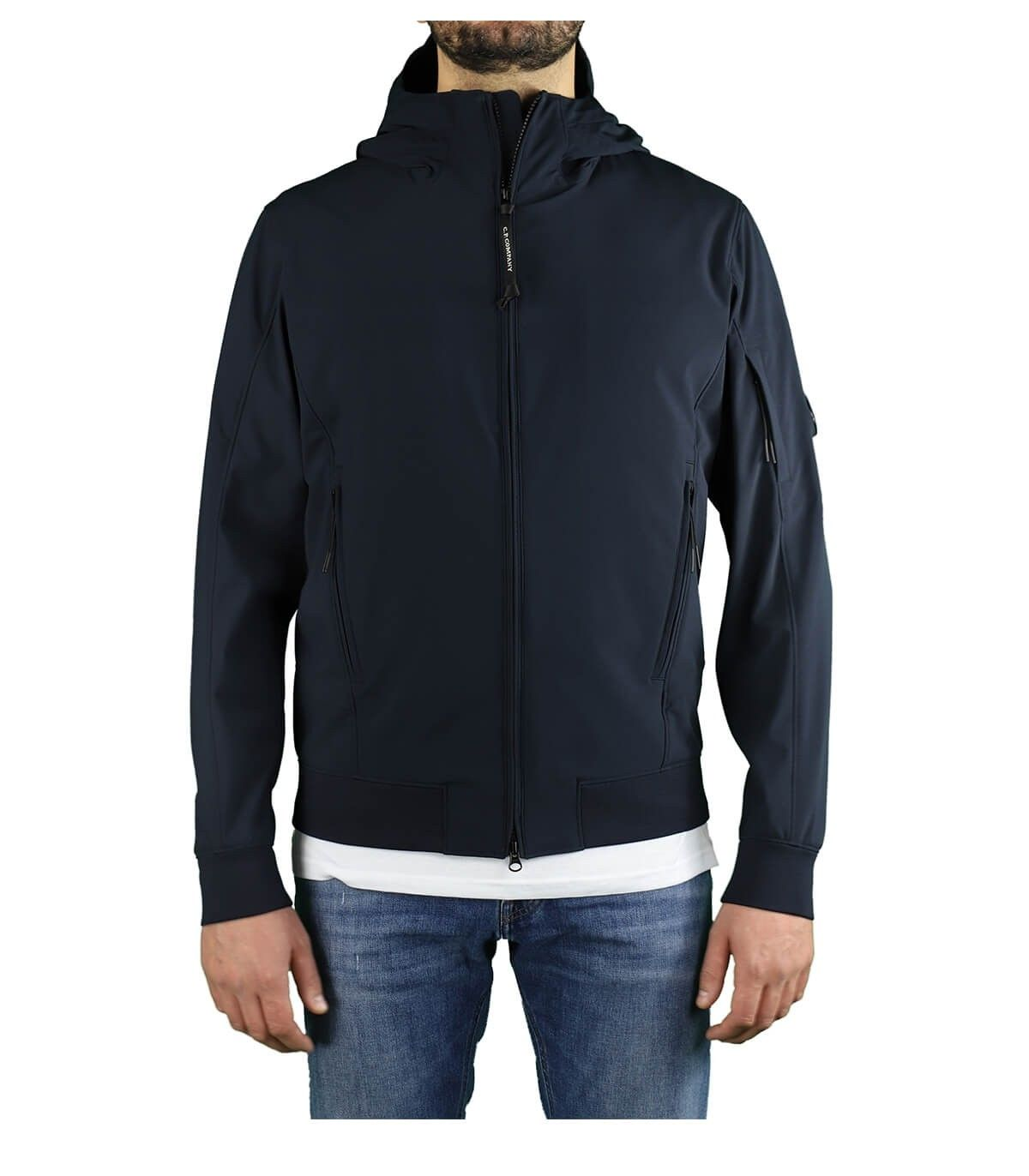 C.p. Company Jackets CP COMPANY MEN'S 10CMOW014A005968A888 BLUE POLYAMIDE OUTERWEAR JACKET