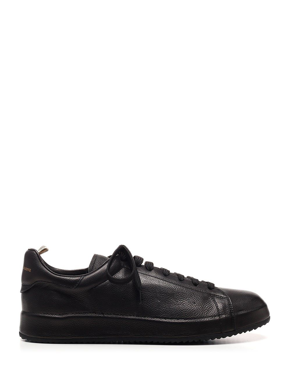 Officine Creative Leathers OFFICINE CREATIVE MEN'S OCUTWAC001GIANOBLAC BLACK OTHER MATERIALS SNEAKERS