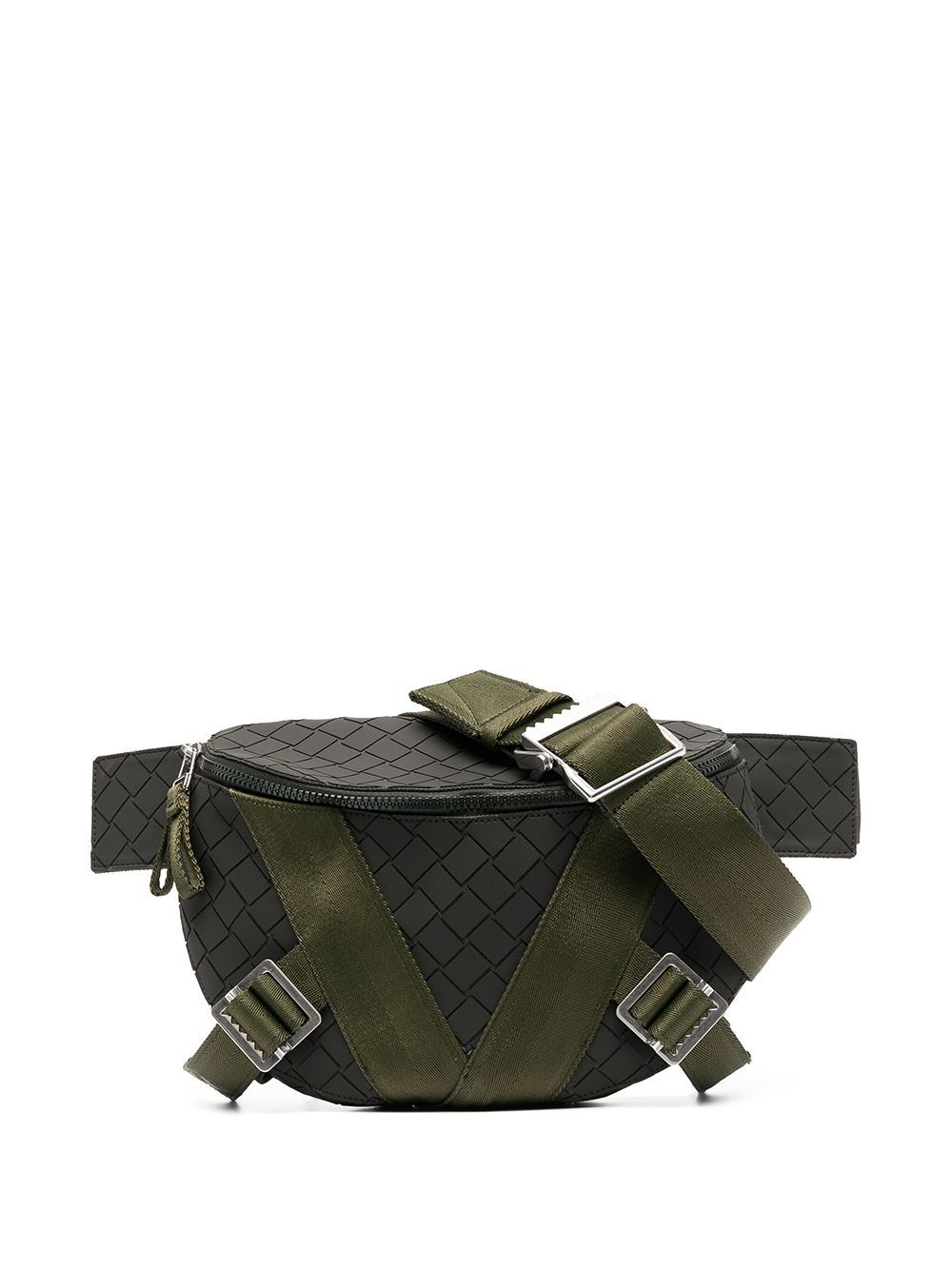 Bottega Veneta BOTTEGA VENETA MEN'S 652551V0GK13203 GREEN COTTON BELT BAG