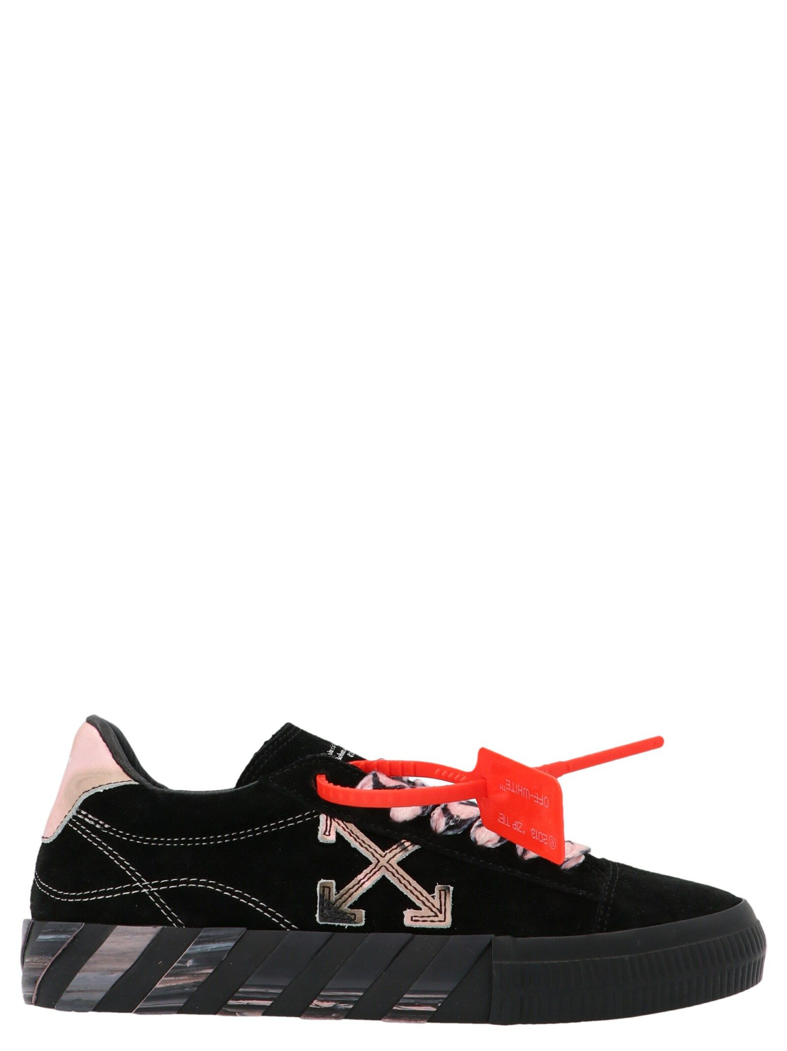 Off-White Leathers OFF-WHITE WOMEN'S OWIA178R21LEA0011030 BLACK OTHER MATERIALS SNEAKERS