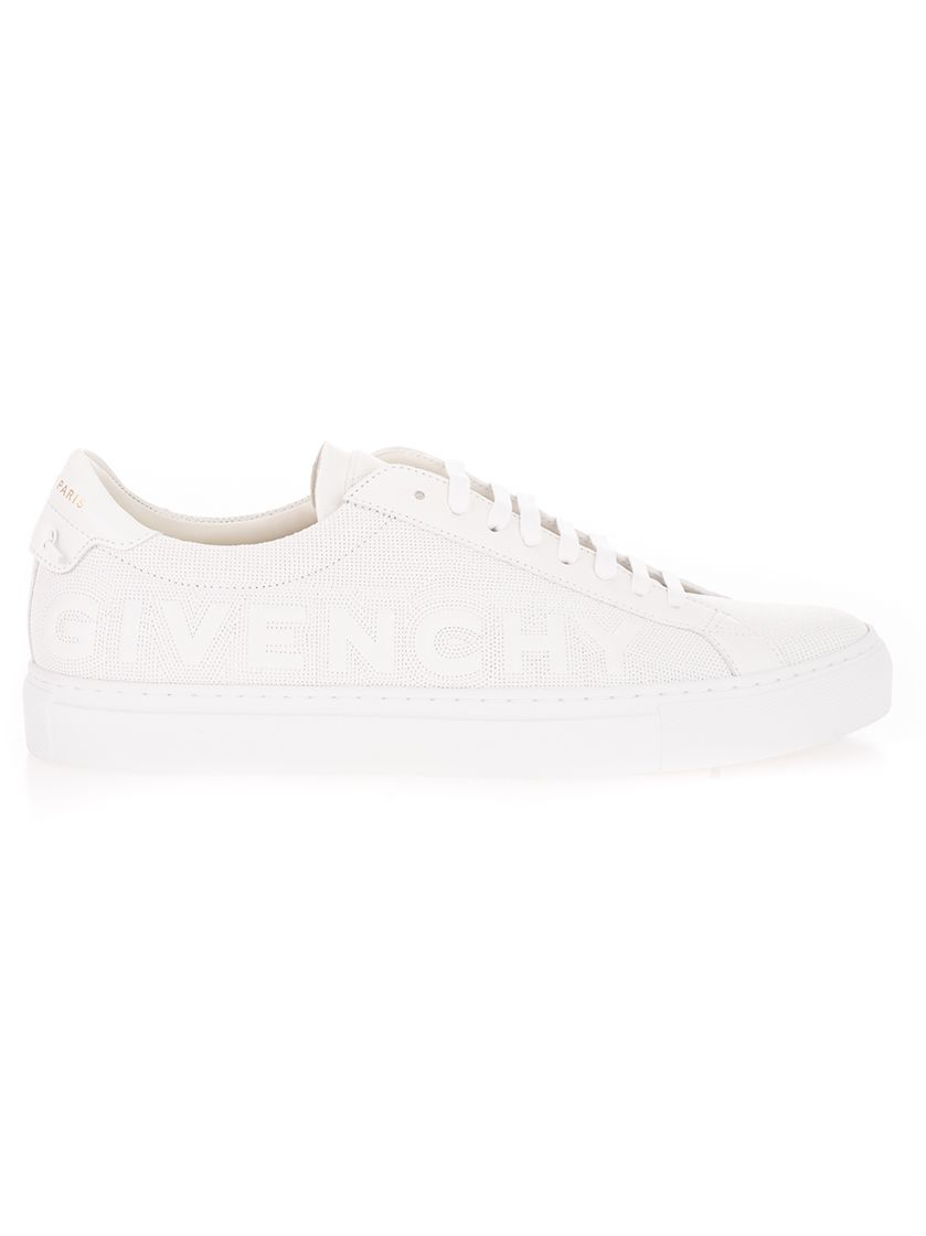 Givenchy GIVENCHY MEN'S BH004KH0T2100 WHITE OTHER MATERIALS SNEAKERS
