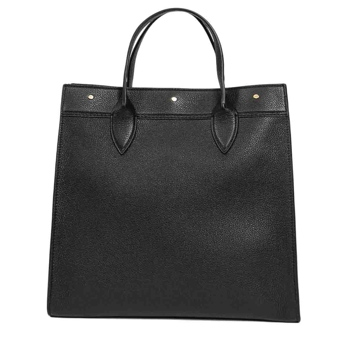 Borbonese BORBONESE WOMEN'S 924491I74100 BLACK LEATHER HANDBAG