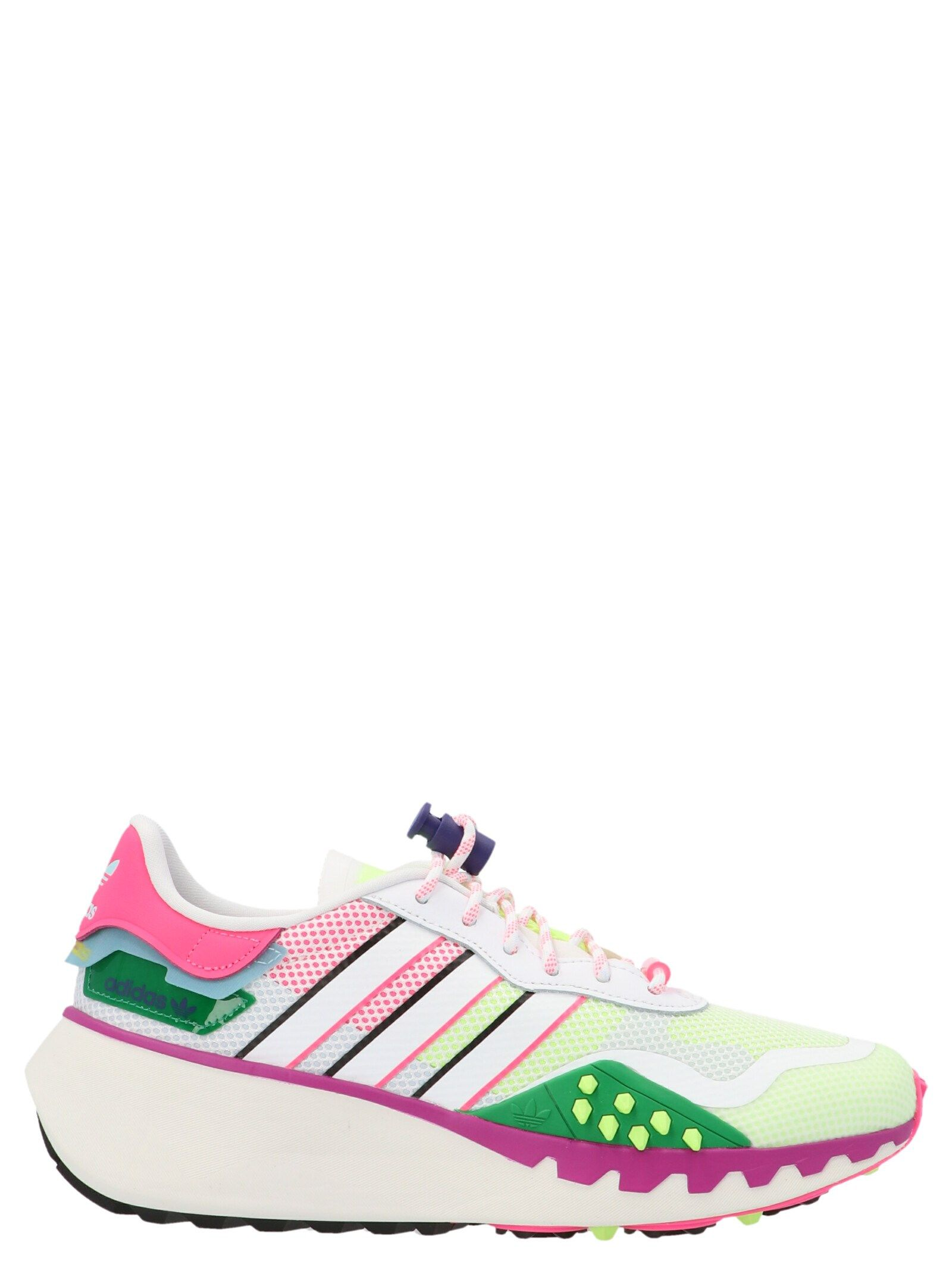 Adidas Originals Sneakers ADIDAS WOMEN'S FX6237 MULTICOLOR SYNTHETIC FIBERS SNEAKERS