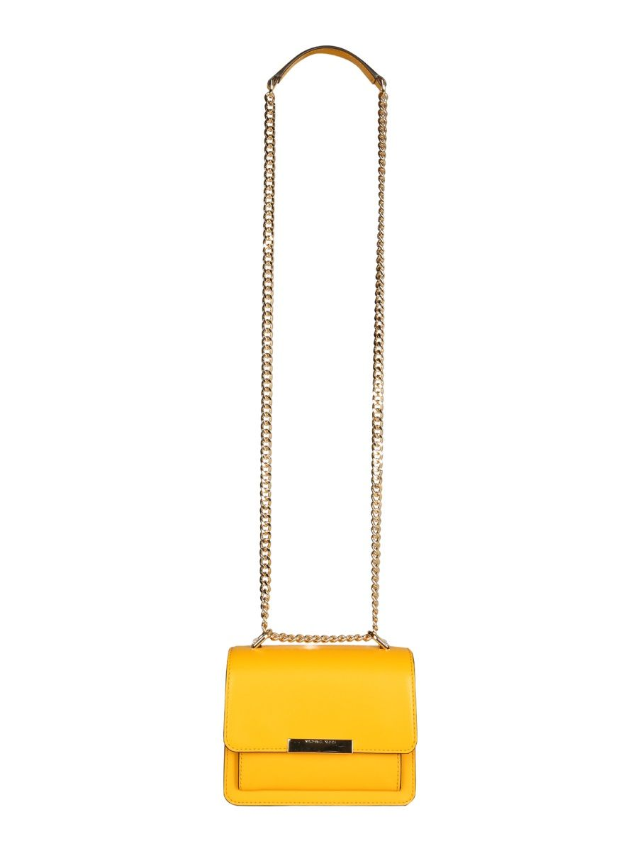 Michael Kors MICHAEL KORS WOMEN'S 32S9GJ4C0L746 YELLOW LEATHER SHOULDER BAG