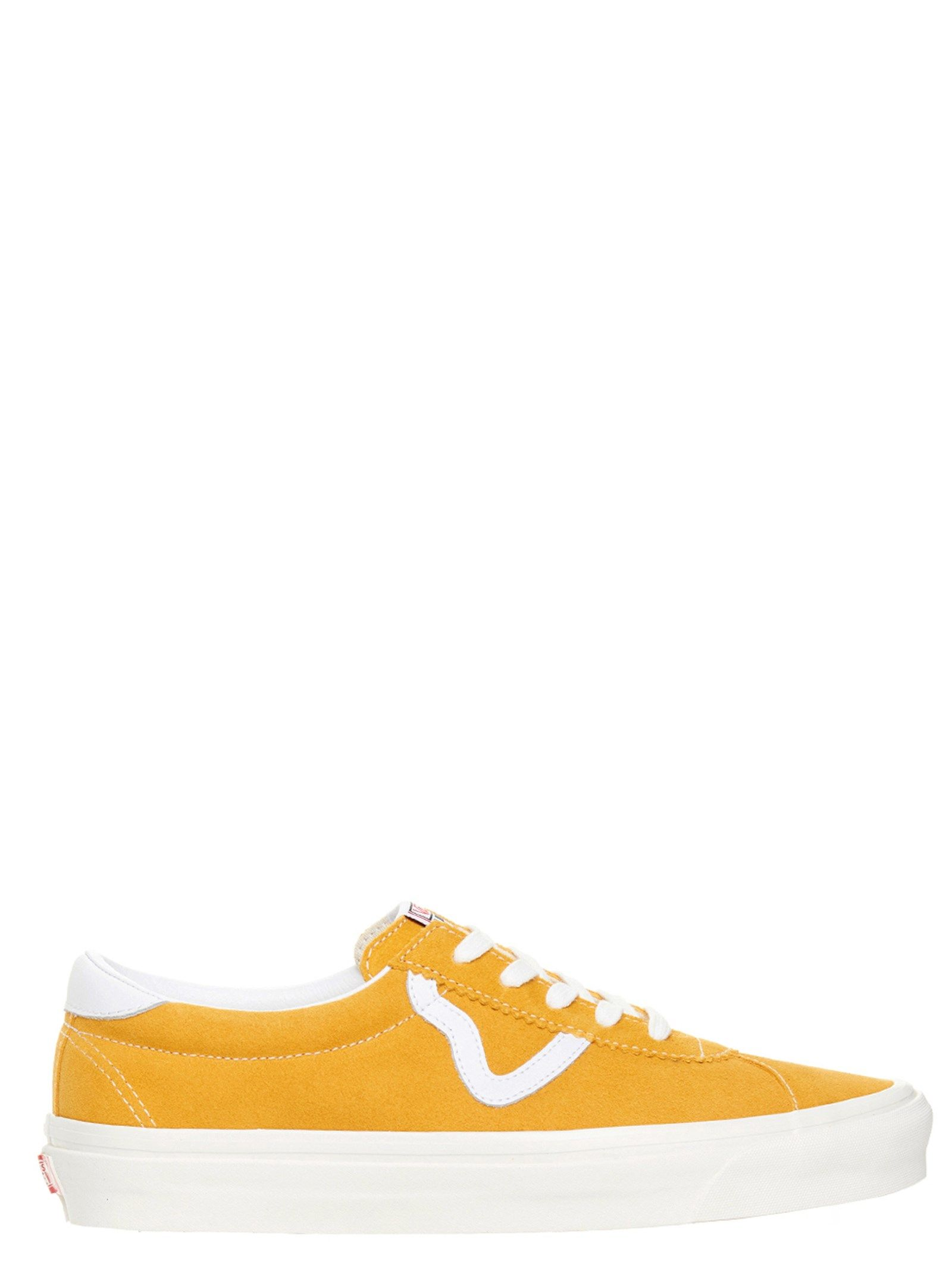 Vans Leathers VANS MEN'S VN0A3WLQ4ZF1 YELLOW OTHER MATERIALS SNEAKERS