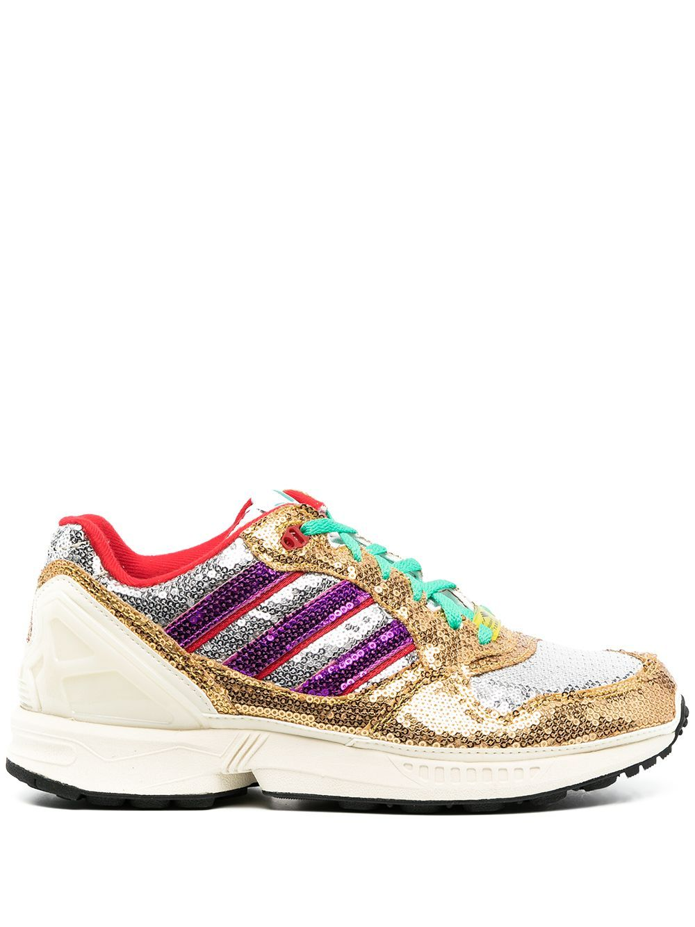 Adidas Originals Sneakers ADIDAS WOMEN'S FY6863W GOLD POLYESTER SNEAKERS