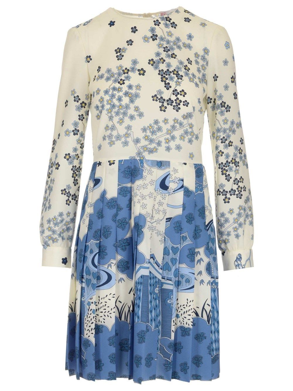 Red Valentino Dresses RED VALENTINO WOMEN'S VR3VAW805S0031 BEIGE OTHER MATERIALS DRESS
