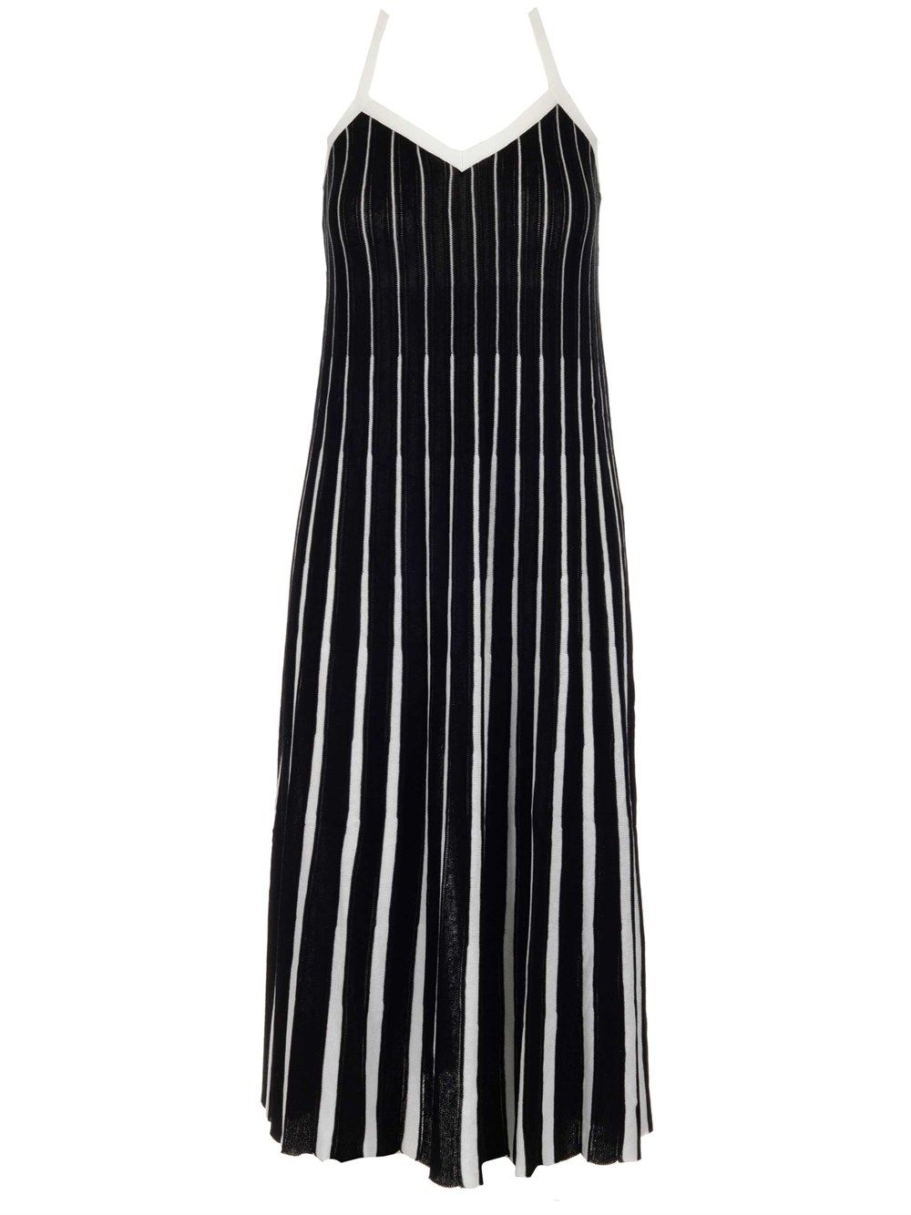 Red Valentino Cottons RED VALENTINO WOMEN'S VR0KD02S5UK0NI BLACK OTHER MATERIALS DRESS