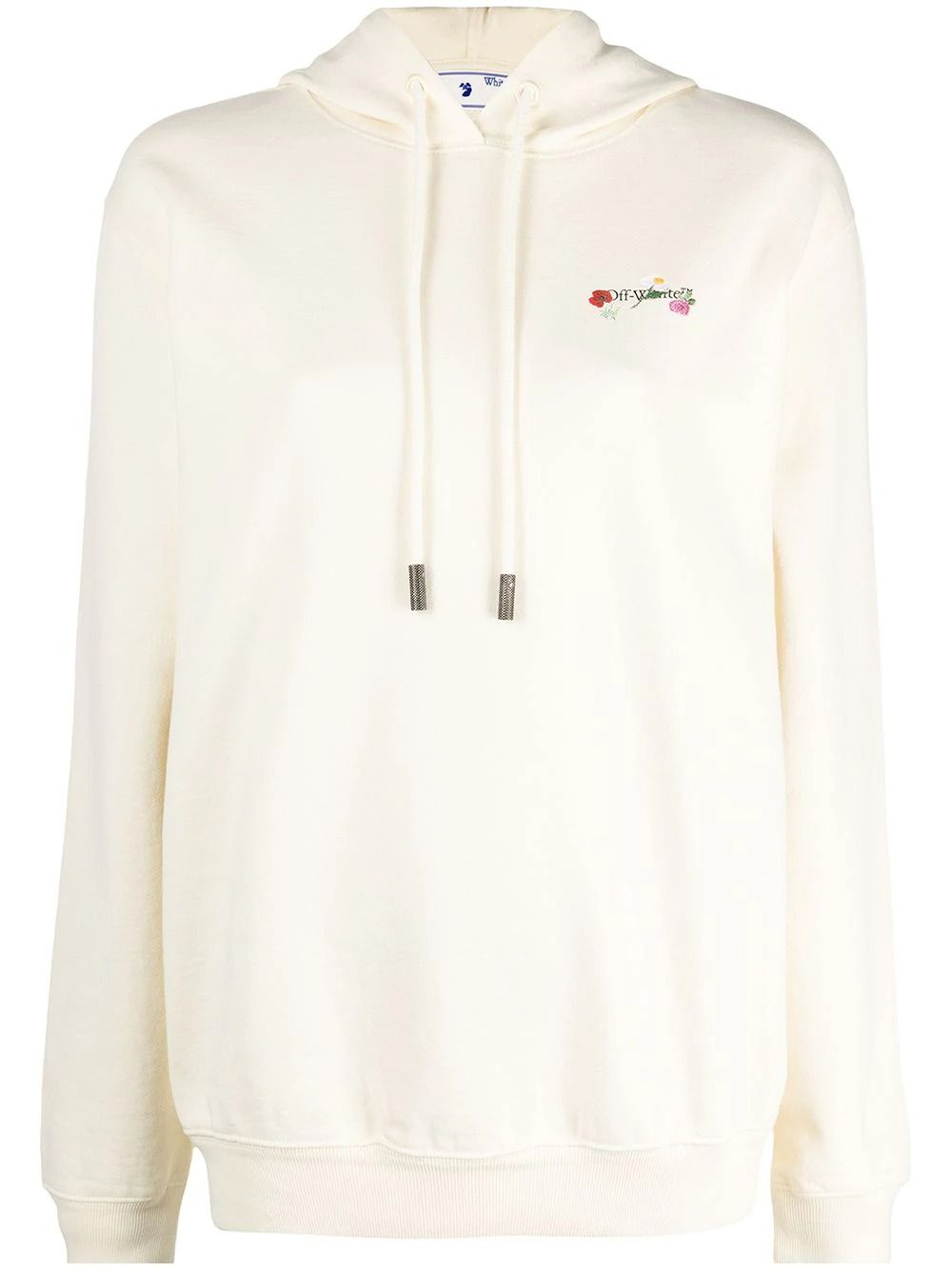 Off-White Sweatshirts OFF-WHITE WOMEN'S OWBB035R21JER0036184 BEIGE COTTON SWEATSHIRT