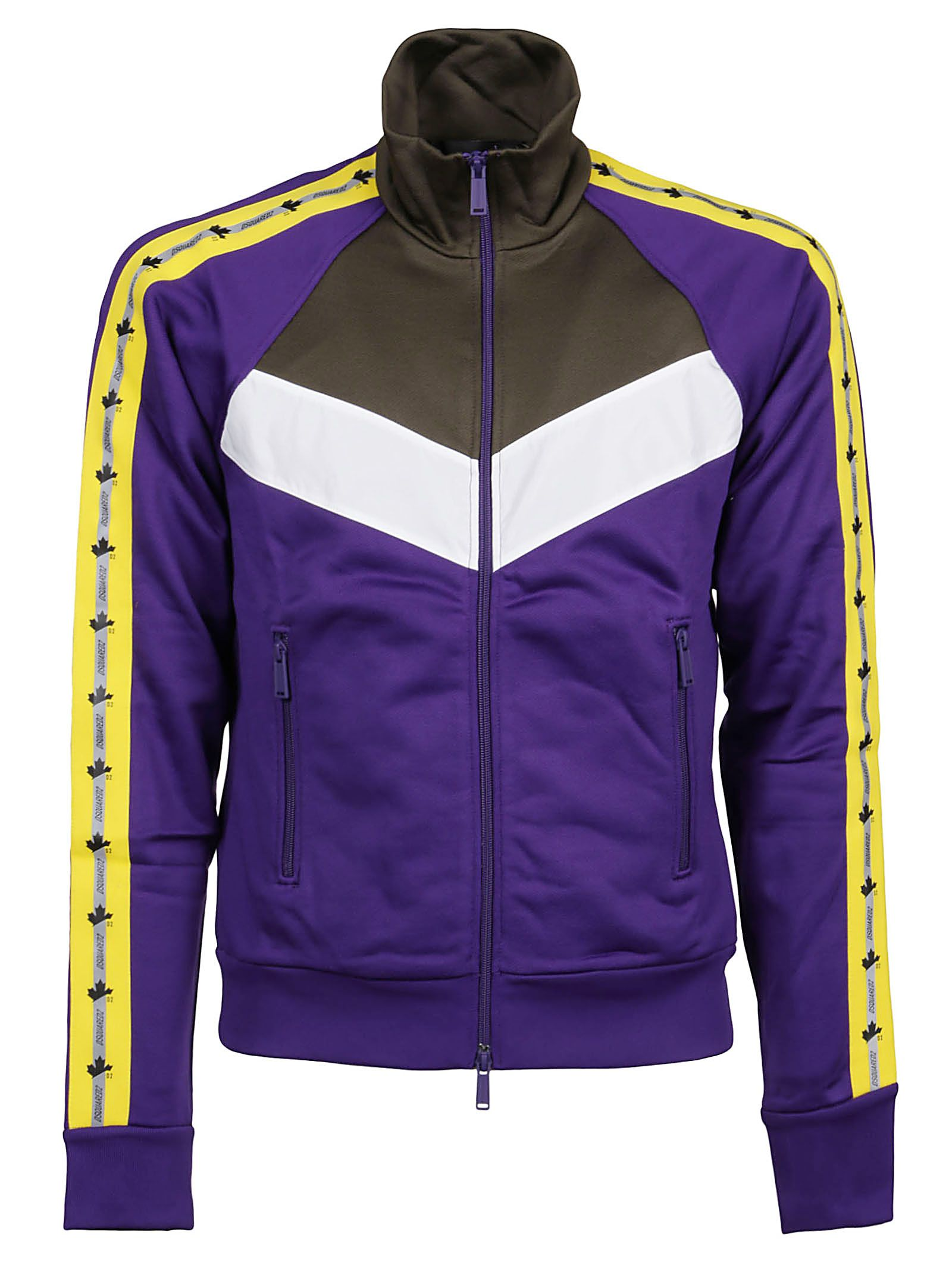 Dsquared2 DSQUARED2 MEN'S S74HG0109S25497962 PURPLE OTHER MATERIALS OUTERWEAR JACKET