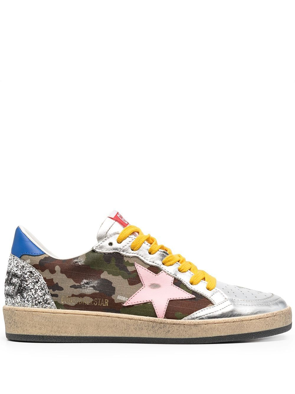 Golden Goose GOLDEN GOOSE WOMEN'S GWF00117F00109480828 MULTICOLOR LEATHER SNEAKERS