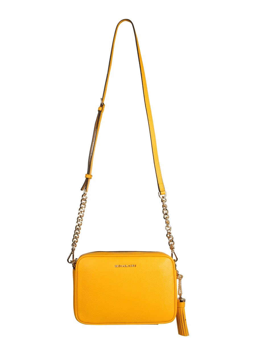Michael Kors MICHAEL KORS WOMEN'S 32F7GGNM8L746SUN YELLOW OTHER MATERIALS SHOULDER BAG