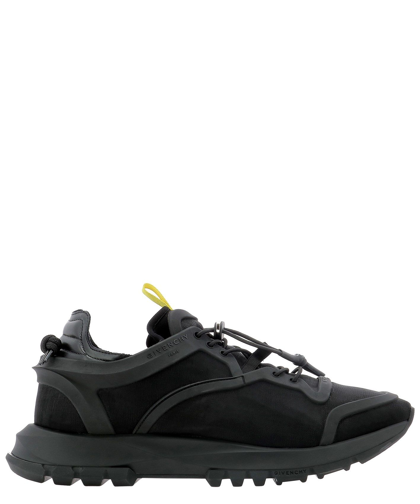 Givenchy GIVENCHY MEN'S BH003EH0PY001 BLACK OTHER MATERIALS SNEAKERS