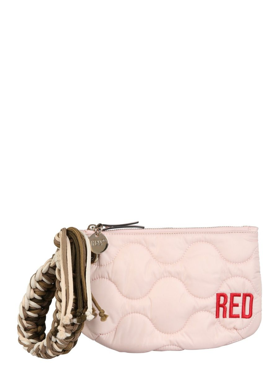 Red Valentino Pouches RED VALENTINO WOMEN'S VQ2P0B15PQXN17 PINK OTHER MATERIALS POUCH