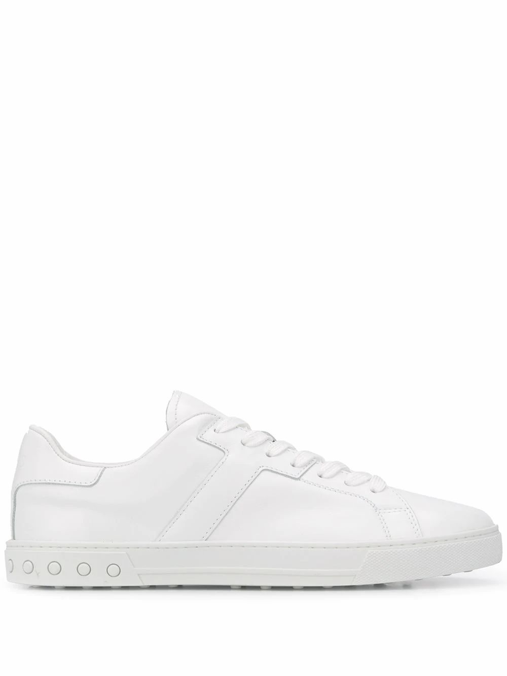 Tod's TOD'S MEN'S XXM0XY0DR20JUSB001 WHITE LEATHER SNEAKERS