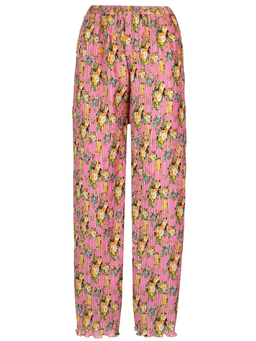Msgm WOMEN'S 3041MDP0721715012 PINK OTHER MATERIALS PANTS