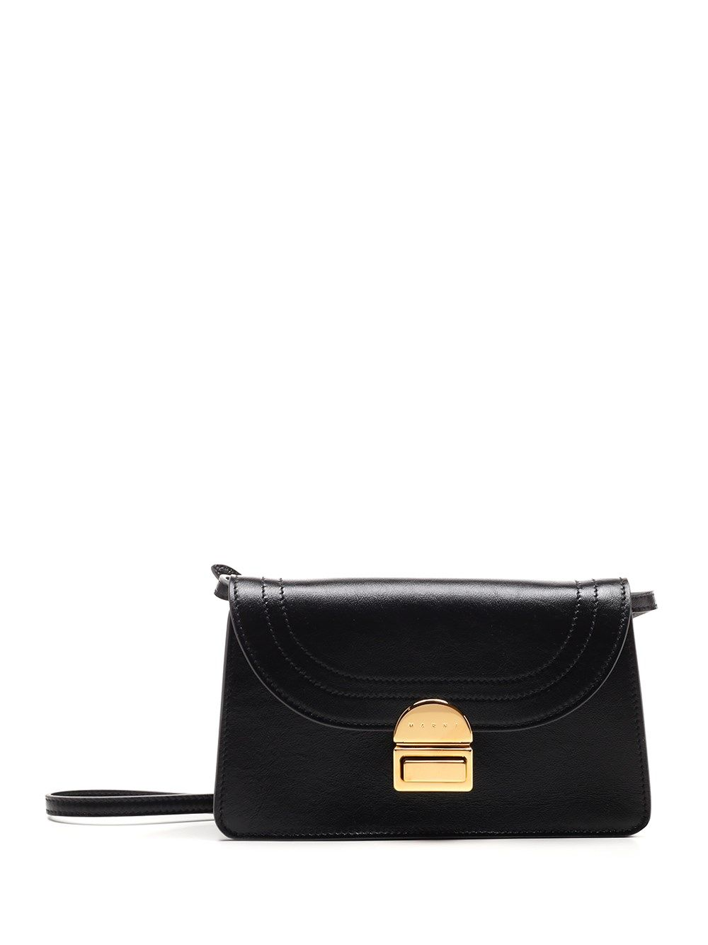 Marni MARNI WOMEN'S PHMP0026Y0P264400N99 BLACK OTHER MATERIALS SHOULDER BAG