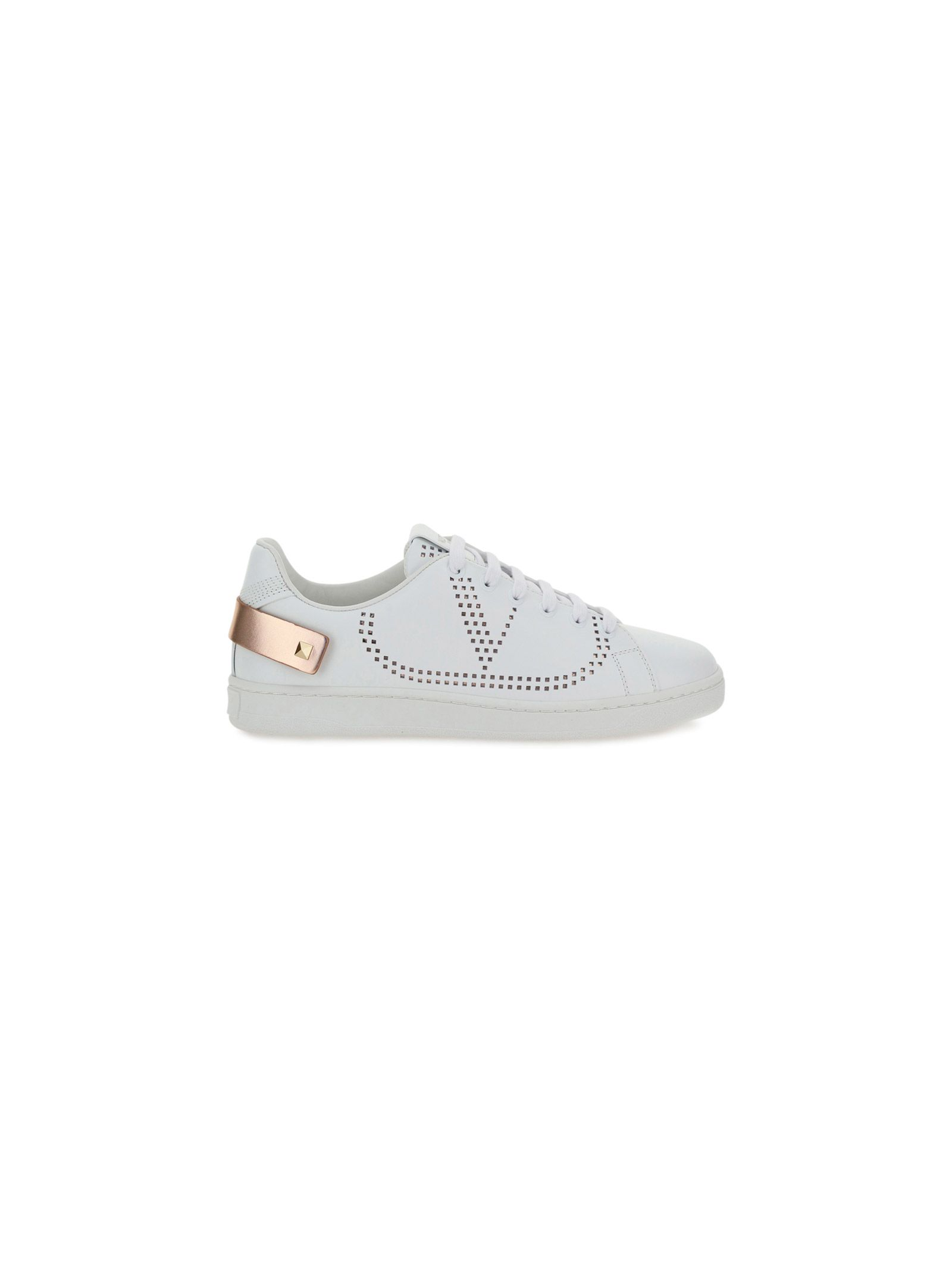 Valentino VALENTINO GARAVANI WOMEN'S VW2S0M20FKZBT8 WHITE OTHER MATERIALS SNEAKERS
