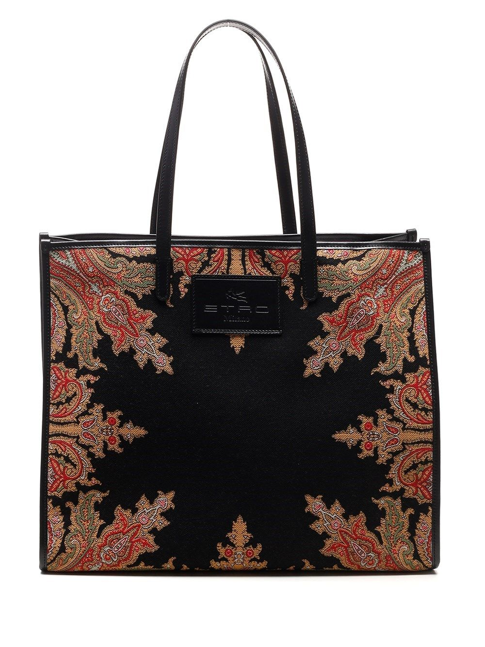 Etro ETRO WOMEN'S 1N00988601 BLACK OTHER MATERIALS TOTE