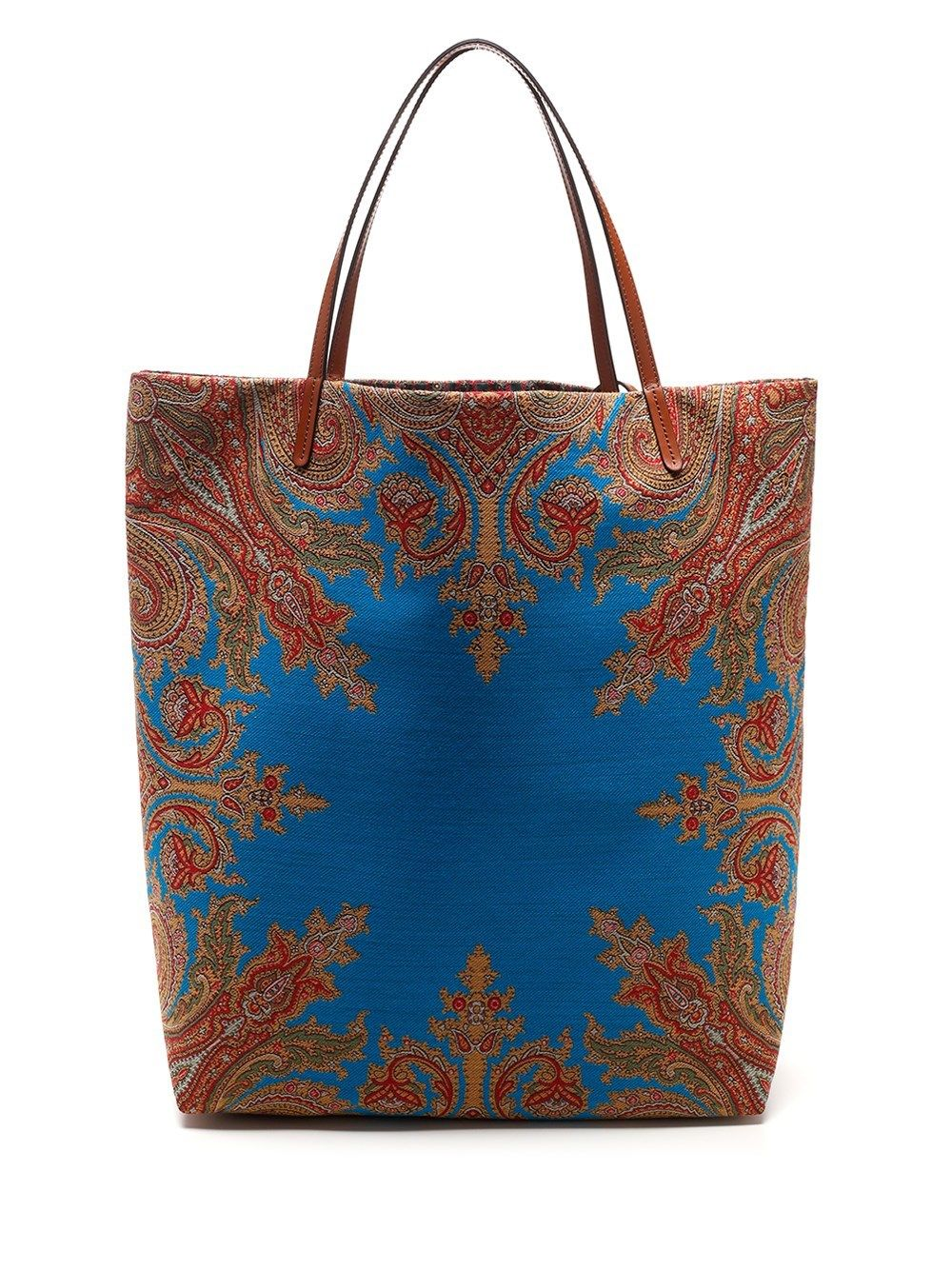 Etro ETRO WOMEN'S 1I4088829250 LIGHT BLUE OTHER MATERIALS TOTE