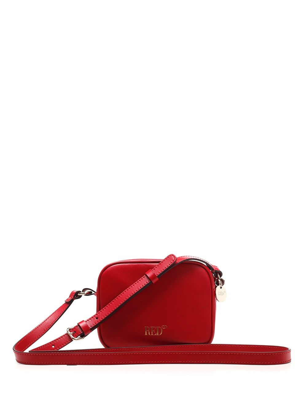 Red Valentino RED VALENTINO WOMEN'S VQ0B0C67FYIC61 RED OTHER MATERIALS SHOULDER BAG
