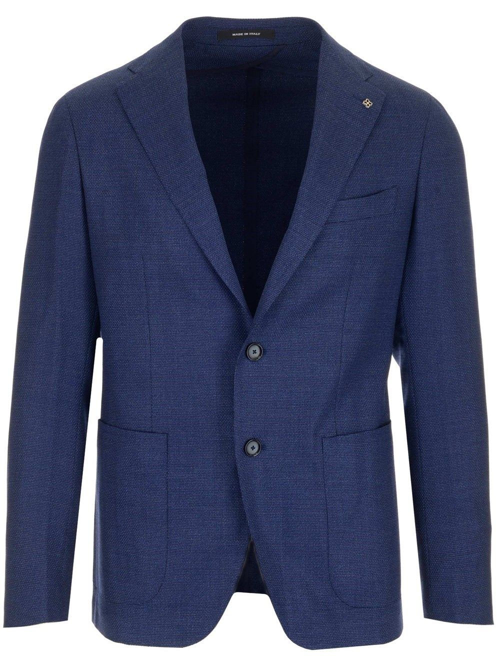 Tagliatore TAGLIATORE MEN'S 1SMC22K18UEG072I3083 BLUE OTHER MATERIALS BLAZER
