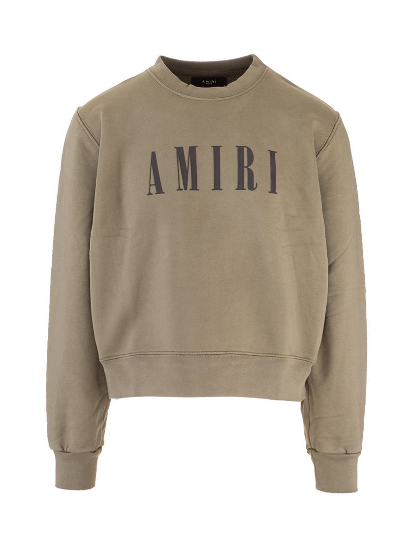 Amiri AMIRI MEN'S MJLC001301 GREEN OTHER MATERIALS SWEATSHIRT