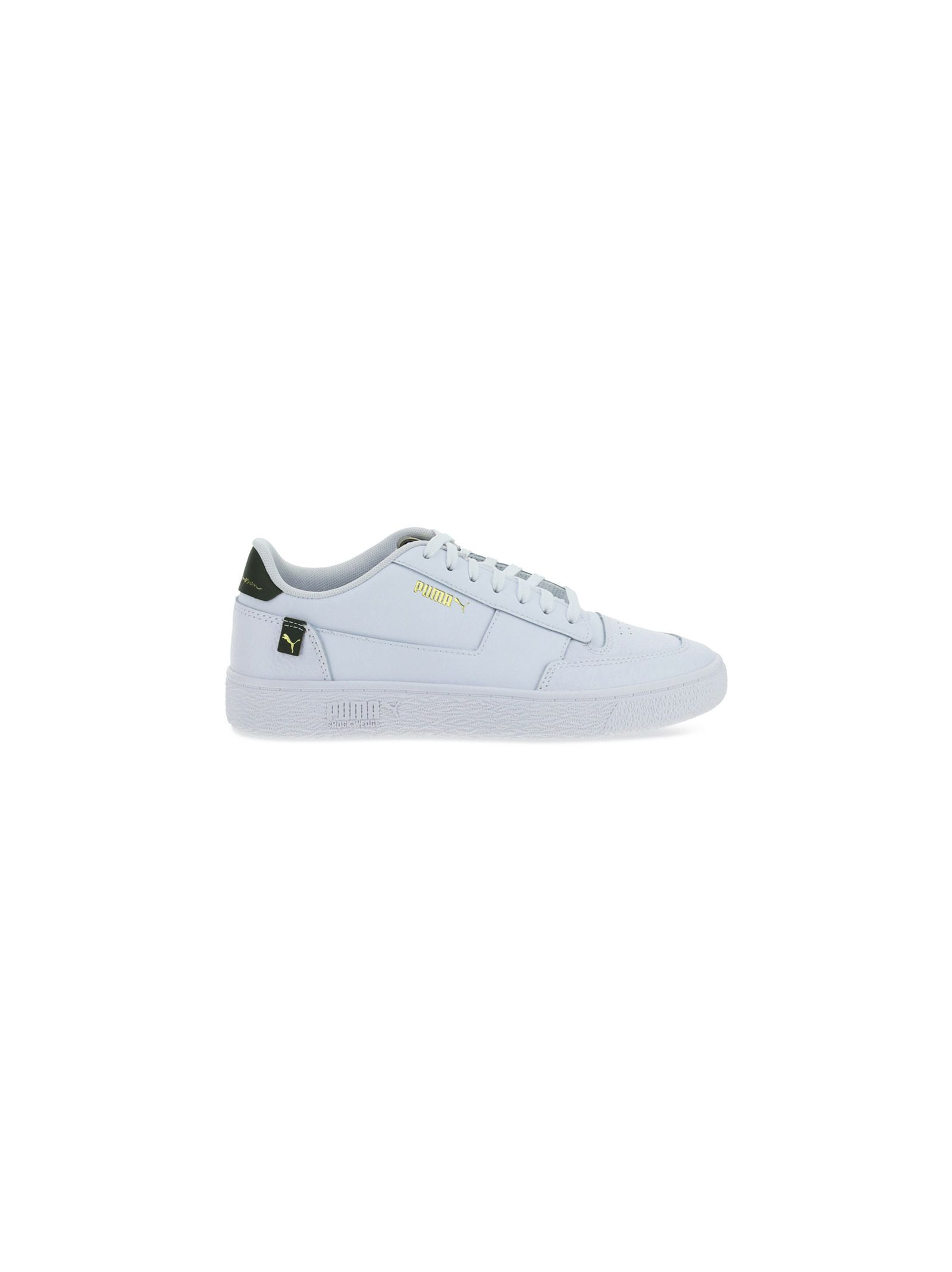 Puma PUMA MEN'S 37591001PUMAWHITEF WHITE OTHER MATERIALS SNEAKERS