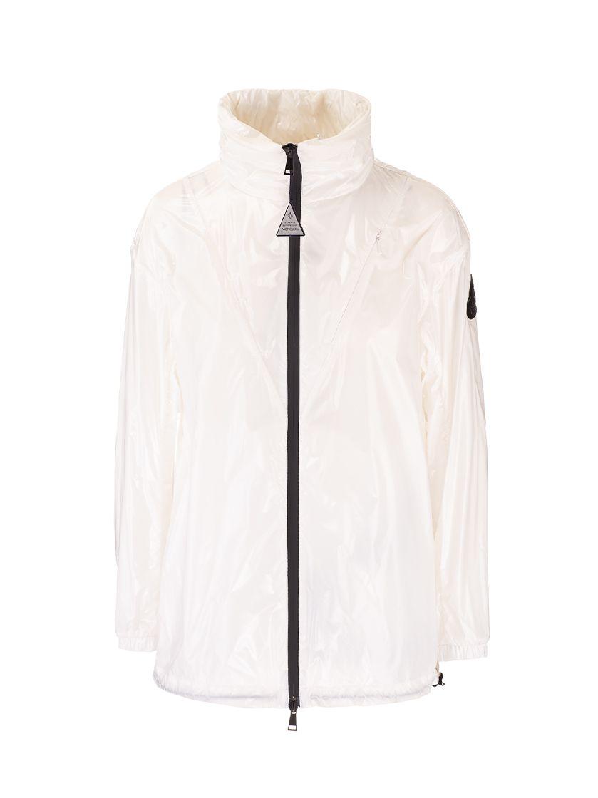 Moncler MONCLER WOMEN'S 1A75210539FT034 WHITE OTHER MATERIALS OUTERWEAR JACKET