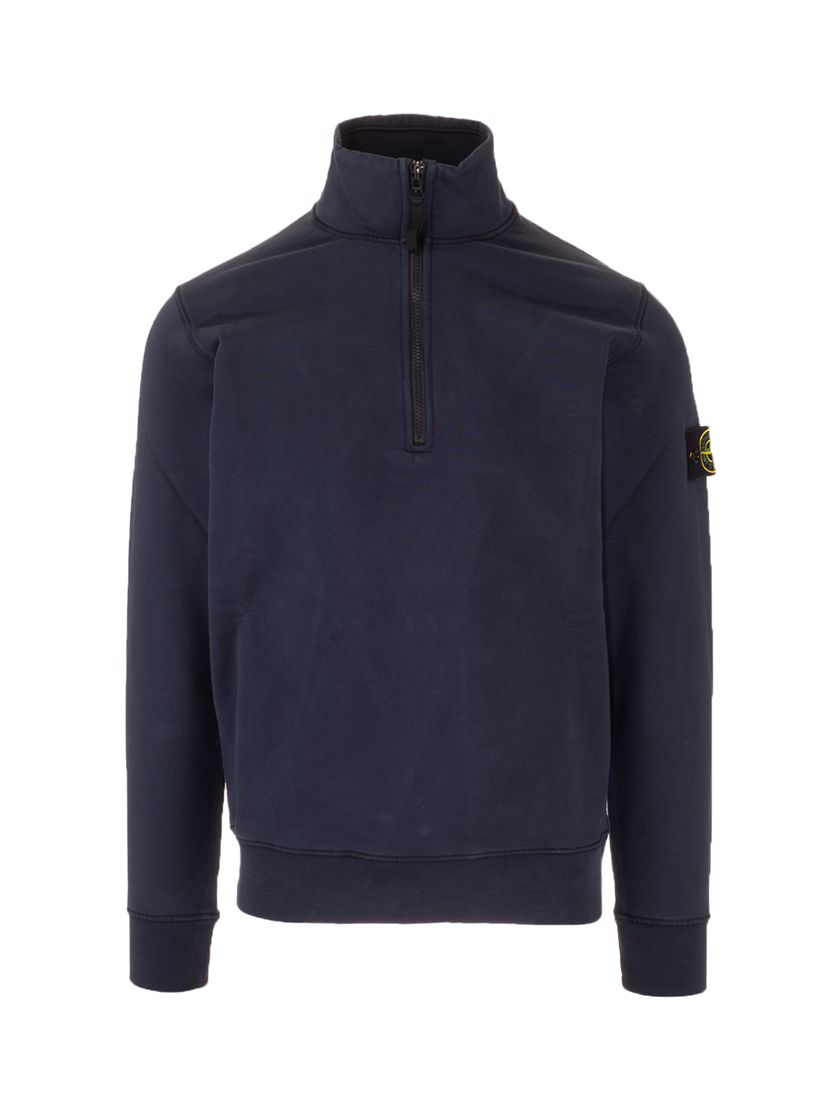 Stone Island STONE ISLAND MEN'S 741561951V0020 BLUE OTHER MATERIALS SWEATSHIRT