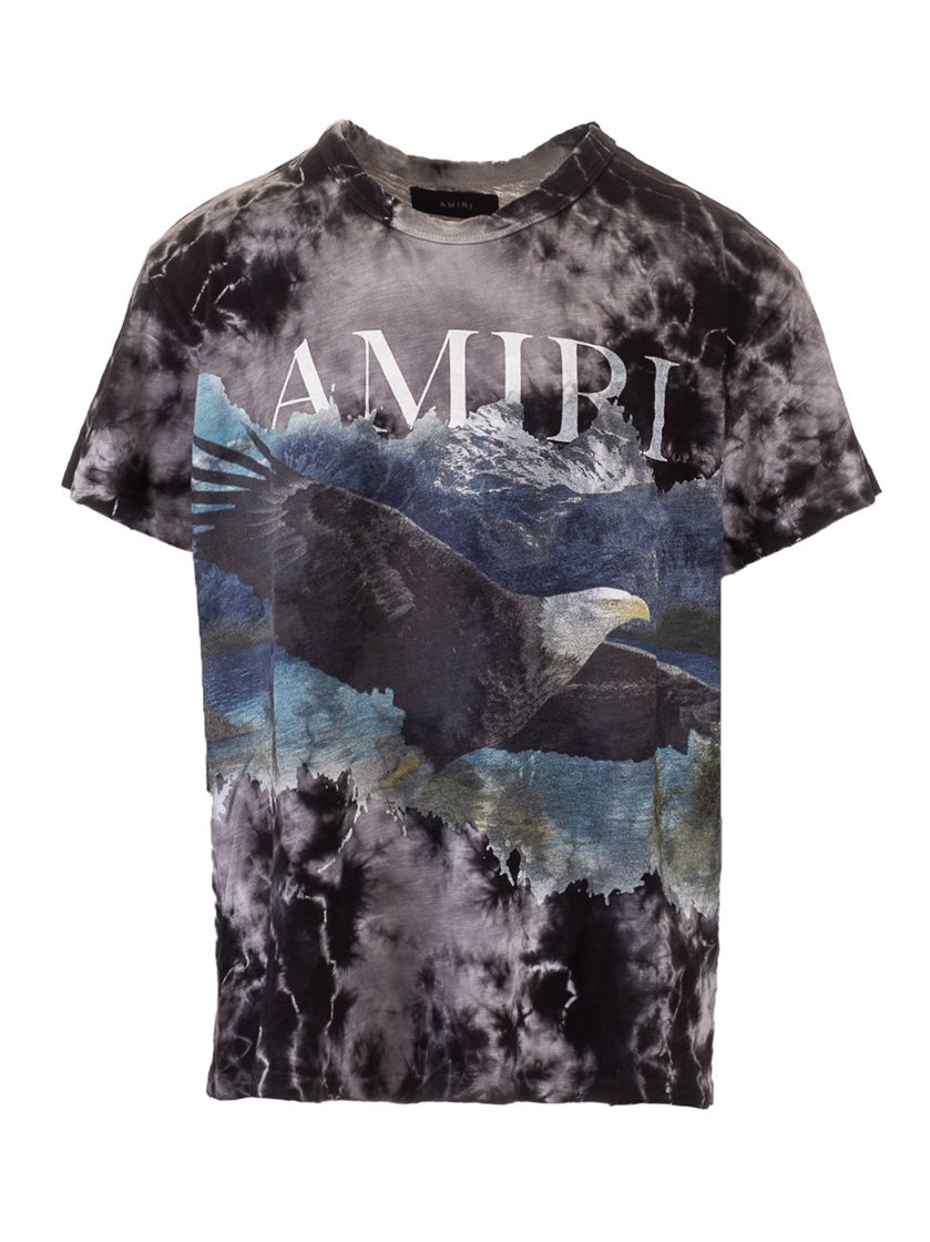 Amiri AMIRI MEN'S MJGT016001 BLACK OTHER MATERIALS T-SHIRT
