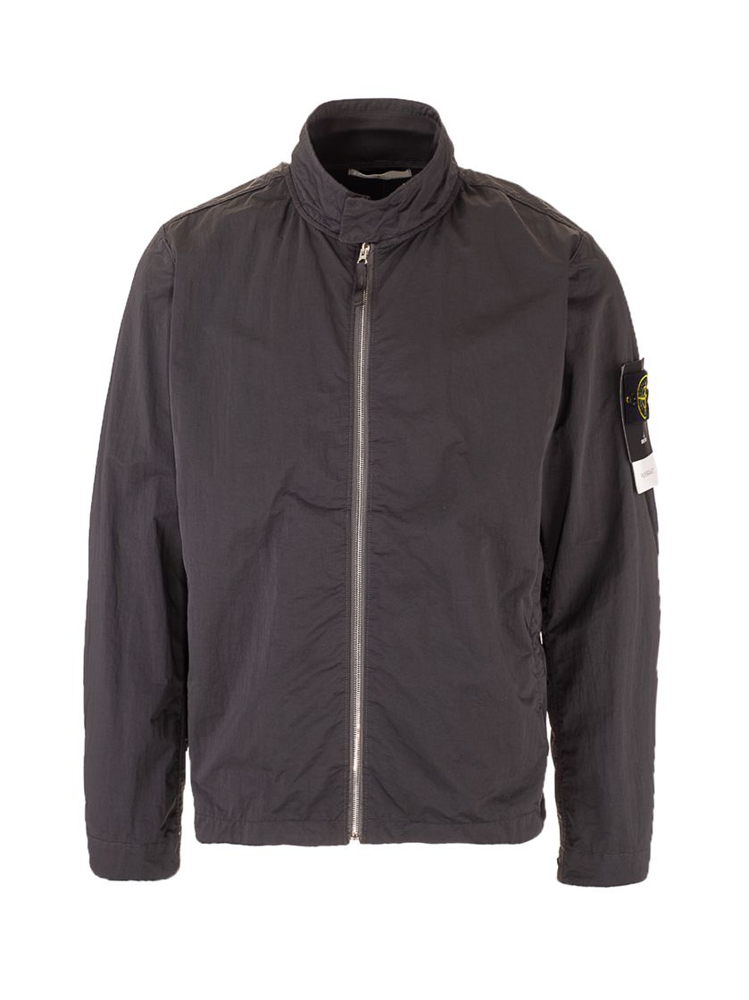 Stone Island STONE ISLAND MEN'S 741543833V0065 GREY OTHER MATERIALS OUTERWEAR JACKET