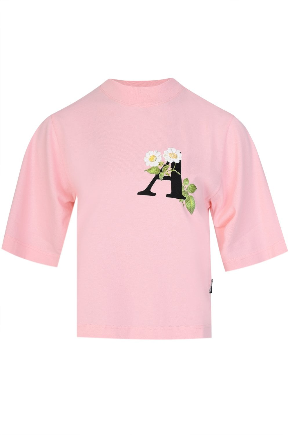 Palm Angels WOMEN'S DAISY CROPPED TEE