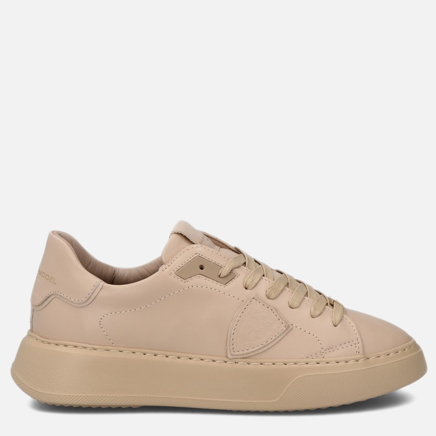 Philippe Model Leathers SNEAKERS TEMPLE MONOCHROME LOW