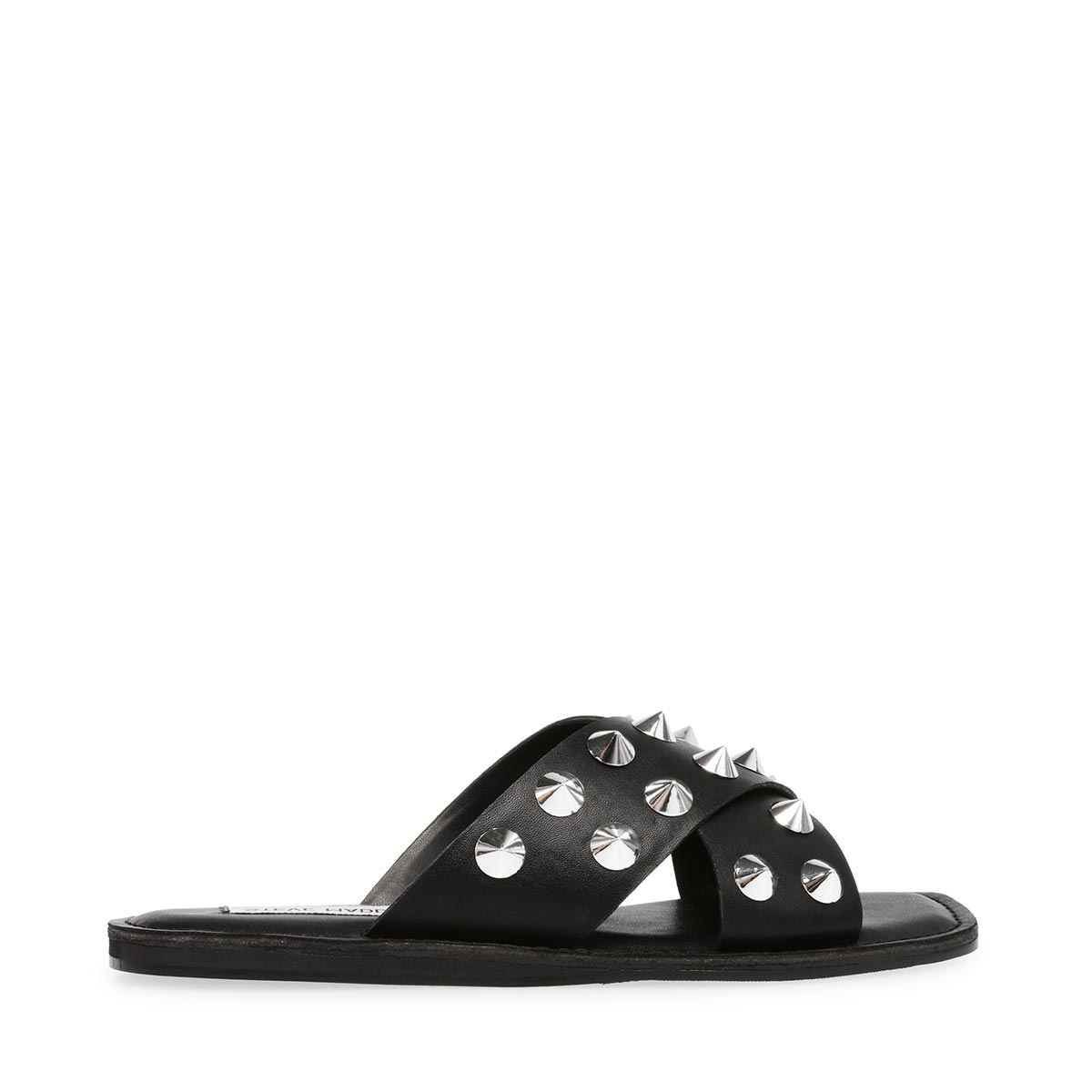 Steve Madden Leathers SPIKEY STUDDED SLIPPERS