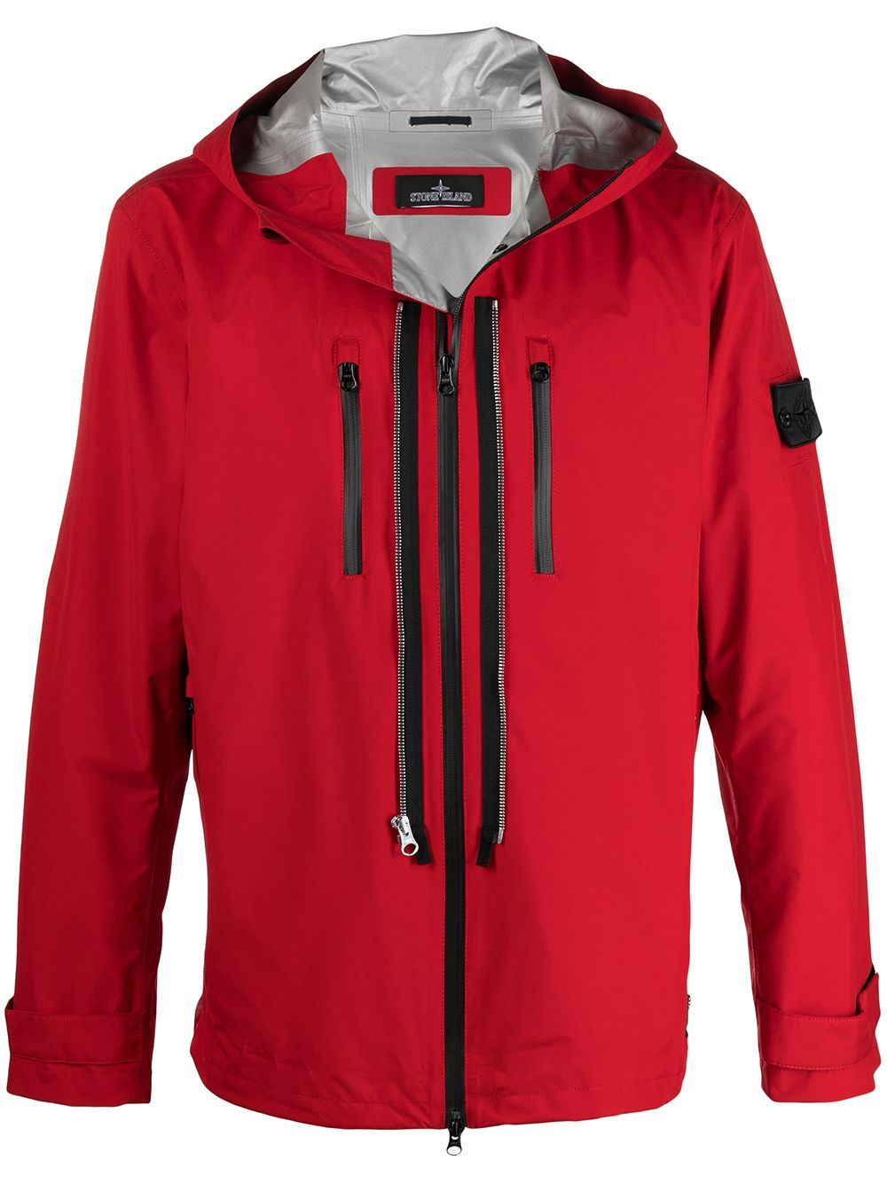 Stone Island Shadow Project Jackets HOODED JACKET AND PATCH LOGO