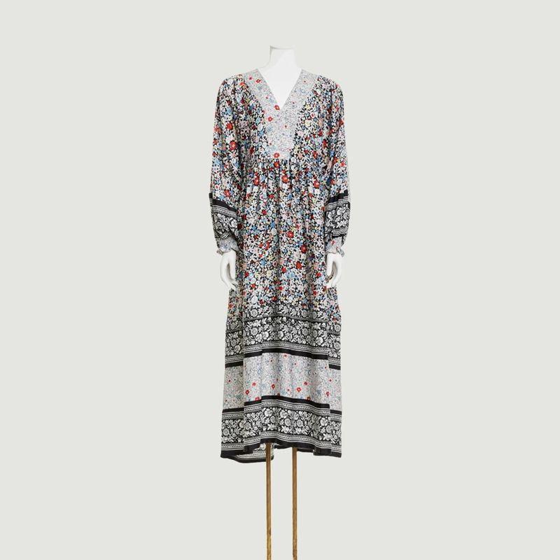 Janis Long dress Multicolor Black See by Chloé