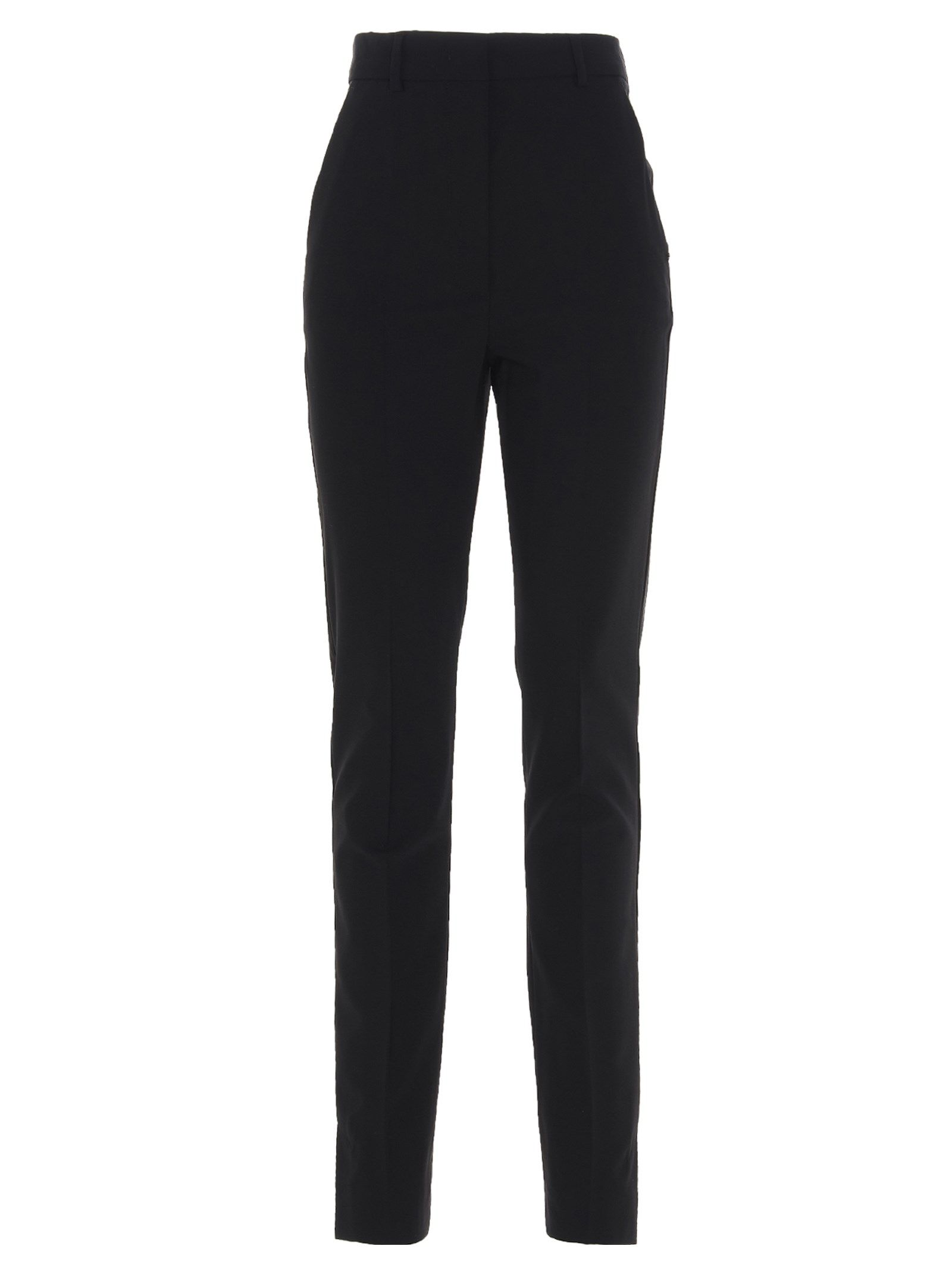 Sportmax SPORTMAX WOMEN'S 21310317600278002 BLACK OTHER MATERIALS PANTS