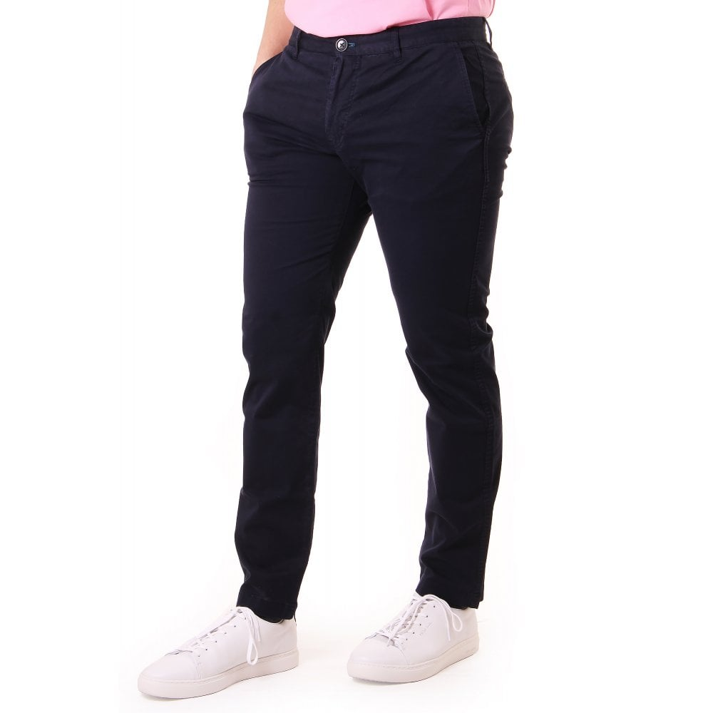 Ps By Paul Smith PS PAUL SMITH SLIM FIT STITCHED CHINO REG LEG